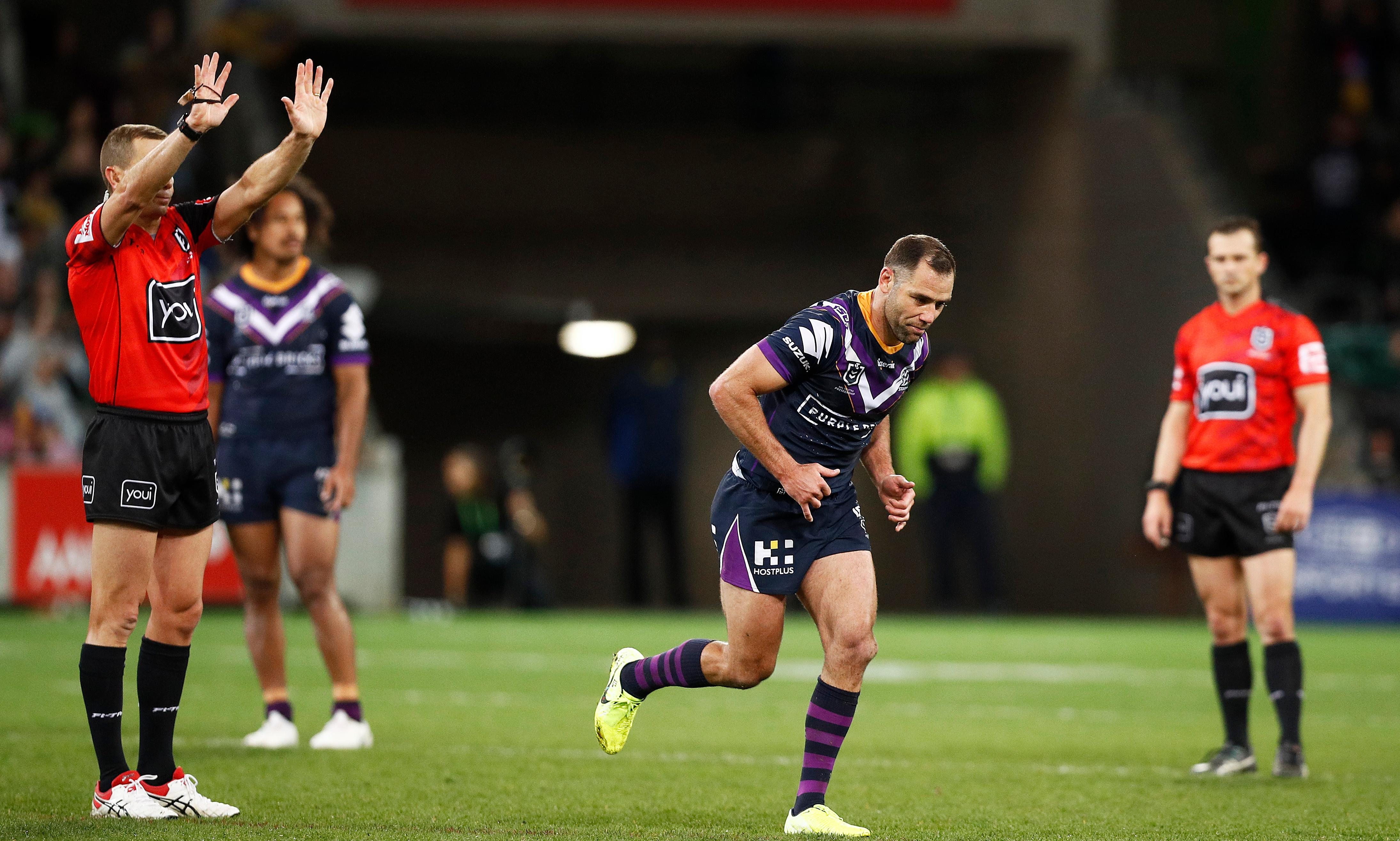 Storm beat Eels but must wait on captain Smith's fate