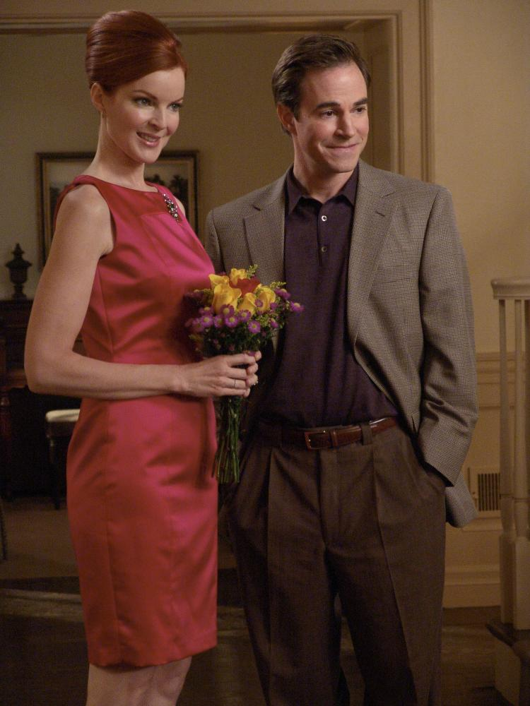 Creepy … with Marcia Cross in Desperate Housewives.