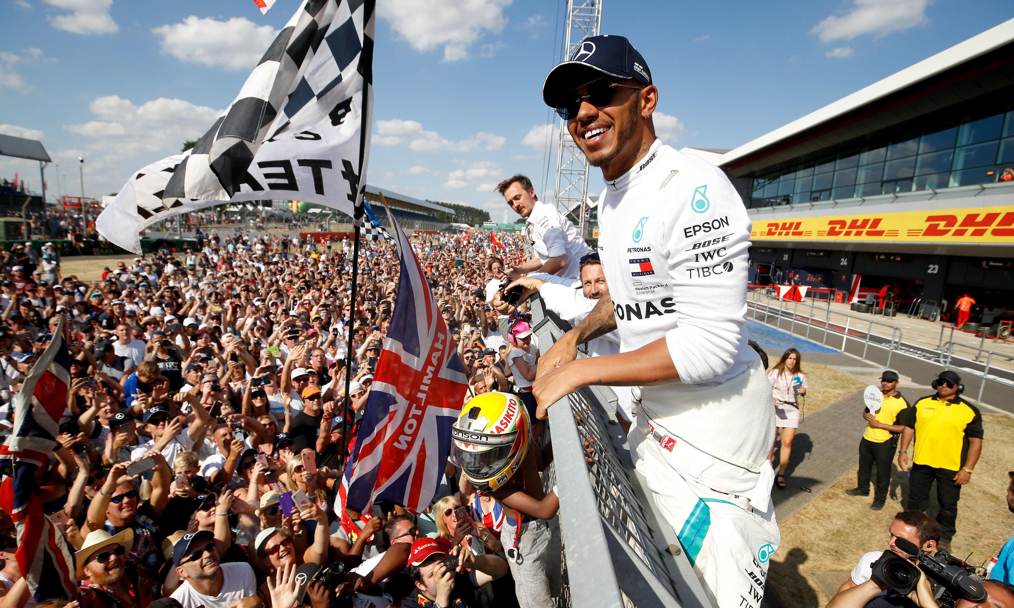 F1 announce British GP at Silverstone is saved with new five-year deal