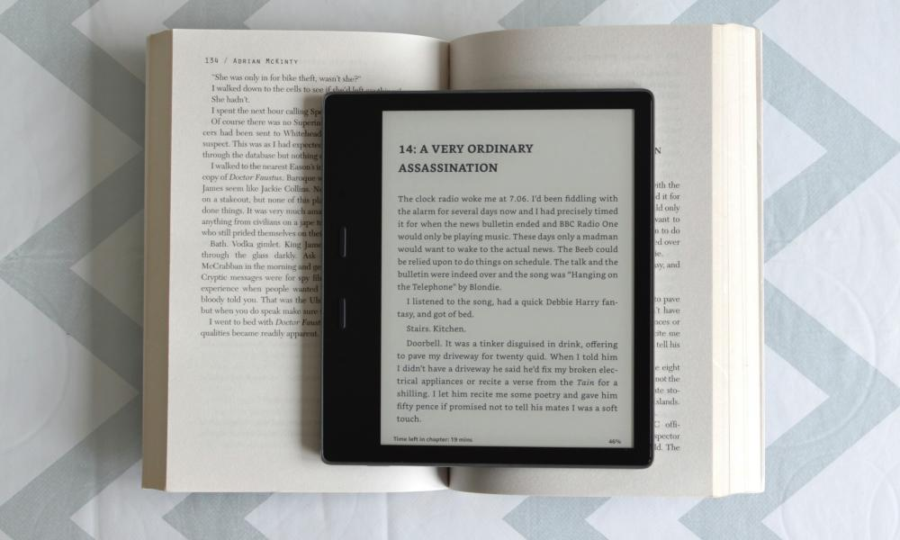 Amazon Kindle Oasis 2019 review