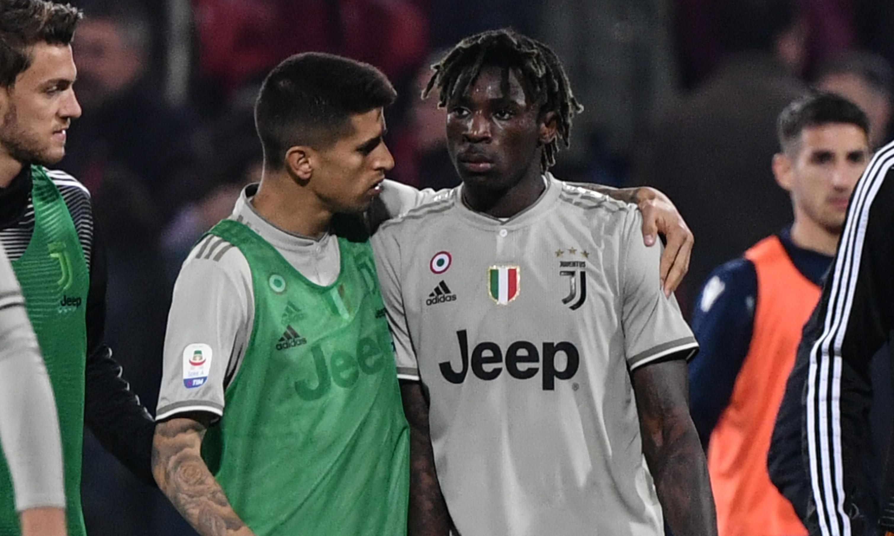 Cagliari escape punishment over racist abuse directed at Moise Kean