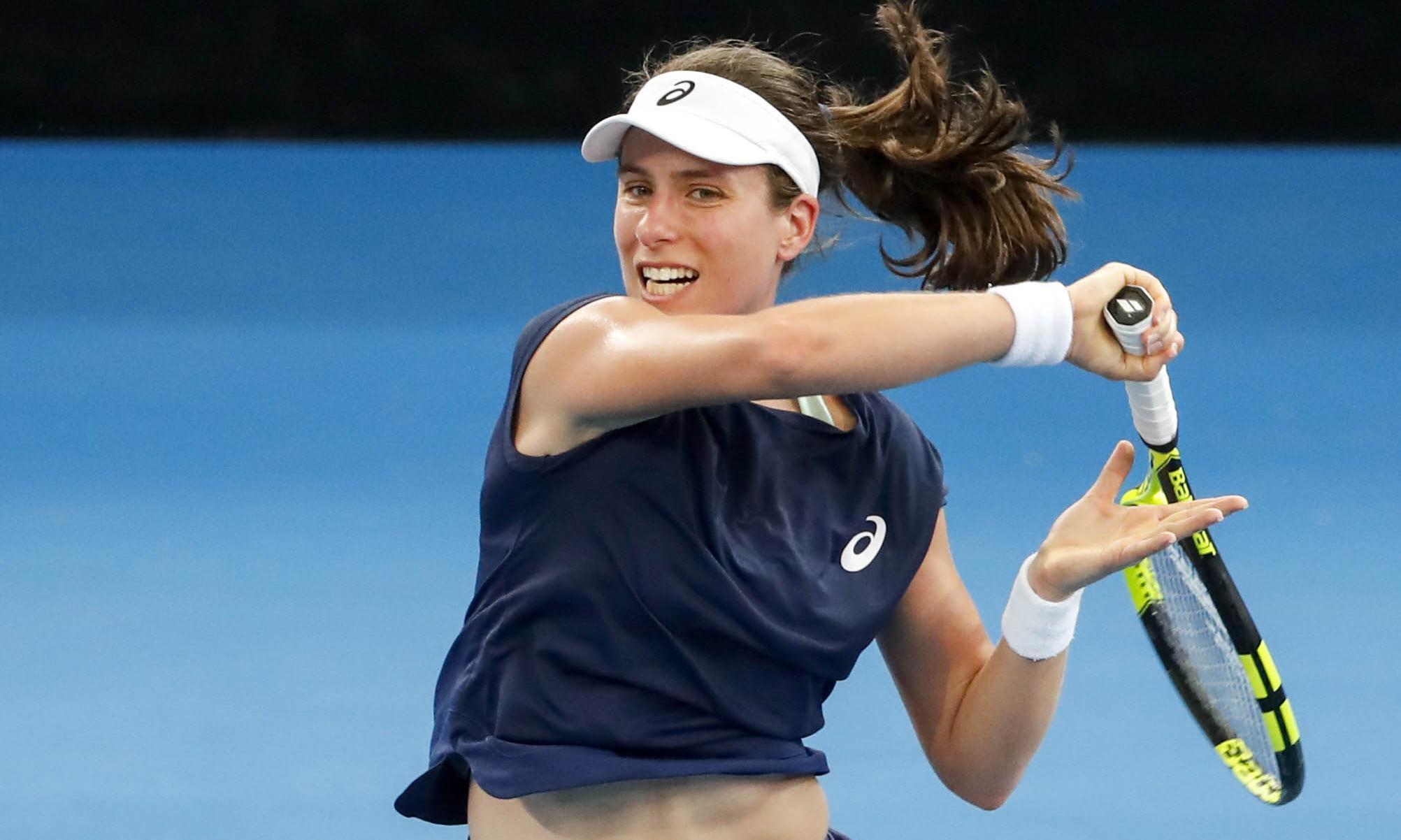 Johanna Konta's Australian Open chances given unexpected boost