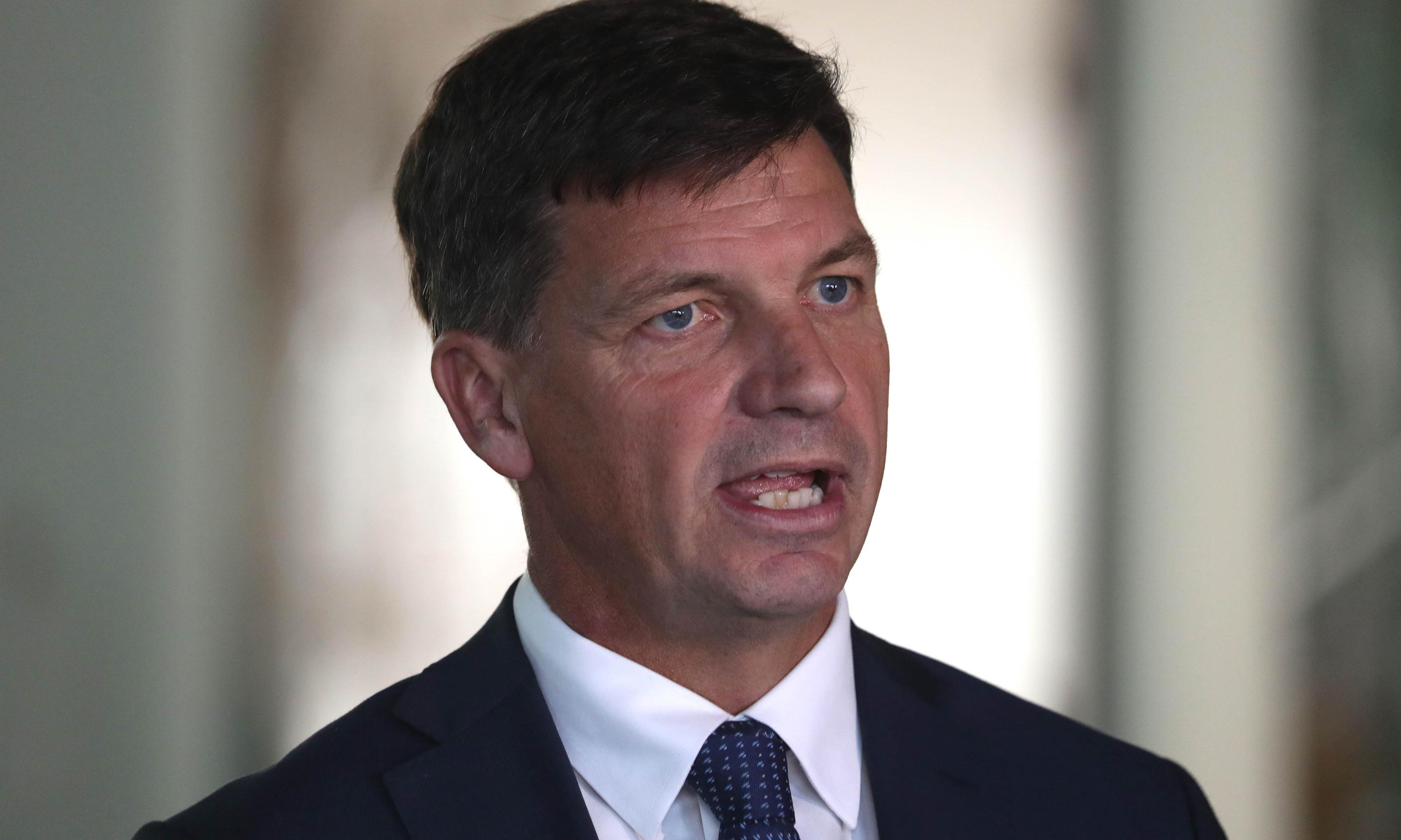 Angus Taylor to announce shift in climate investment away from wind and solar