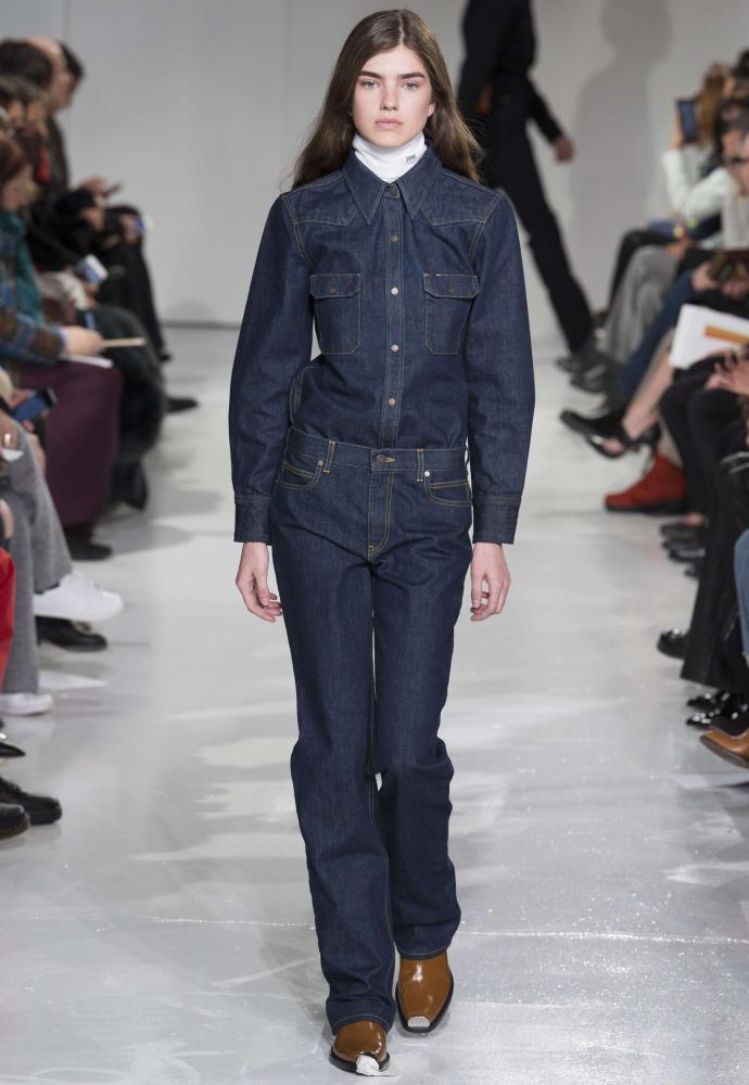 Americana vibe: Raf Simons for Calvin Klein