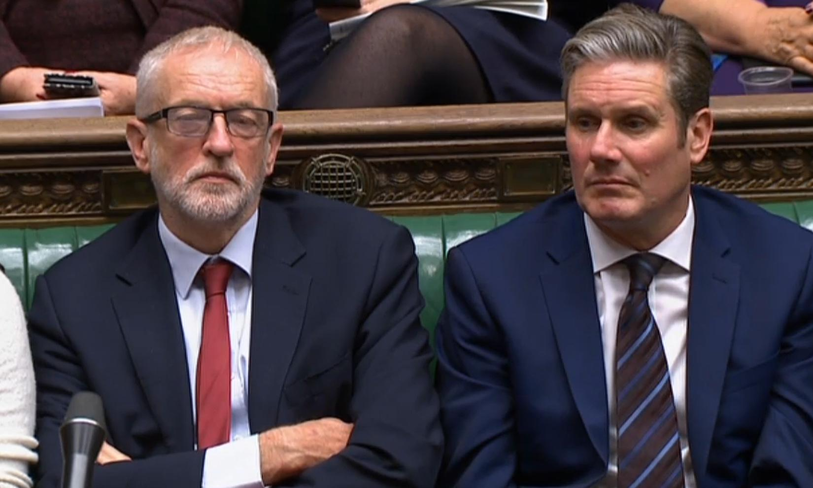 Starmer clashes with shadow cabinet over second referendum