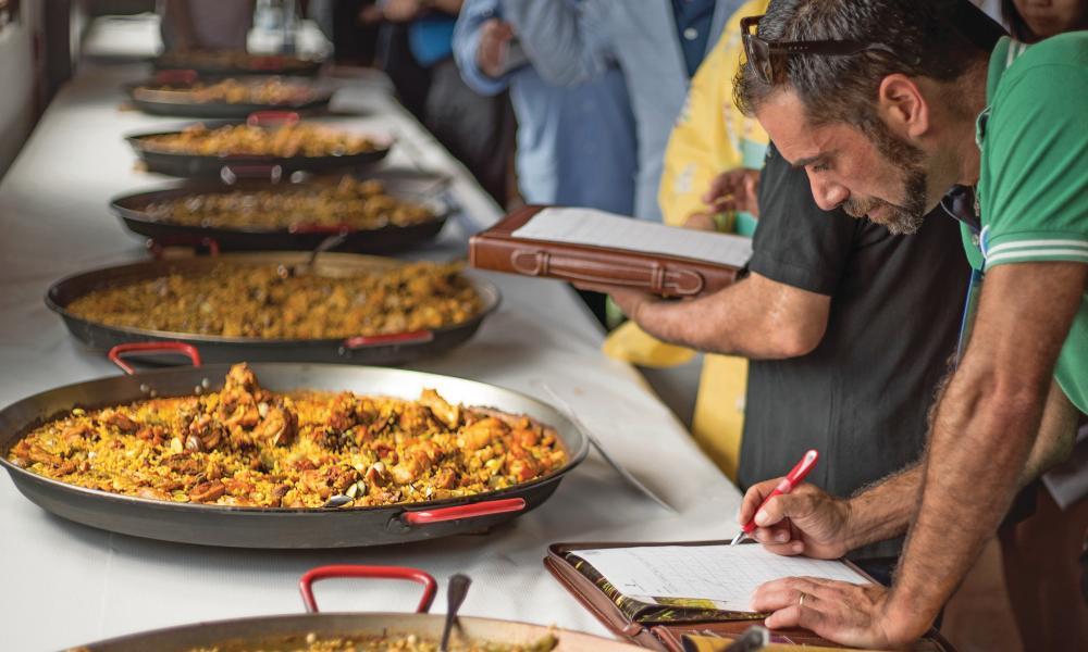 paella tasting
