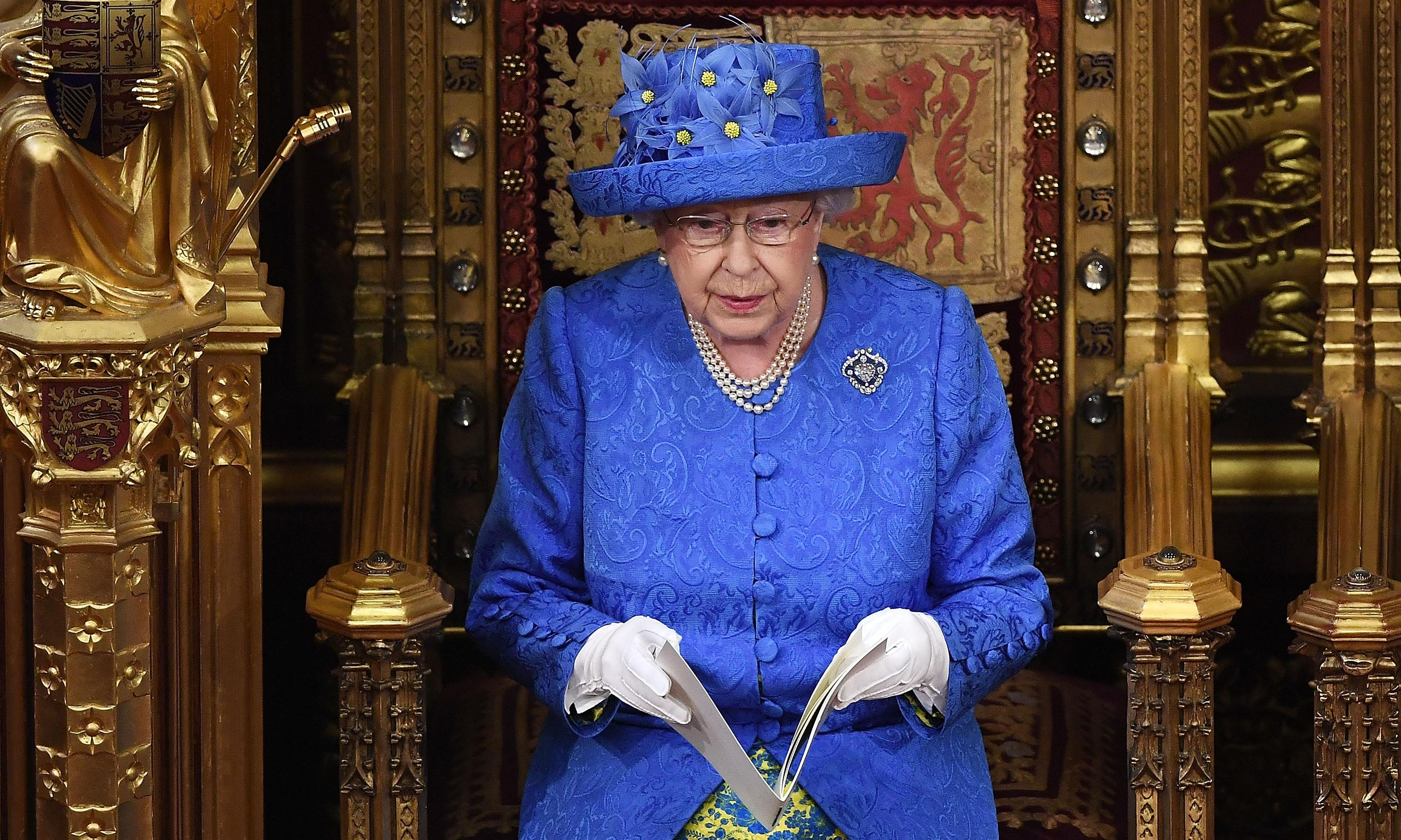 Tories aim to distract from Brexit with crime-focused Queen's speech
