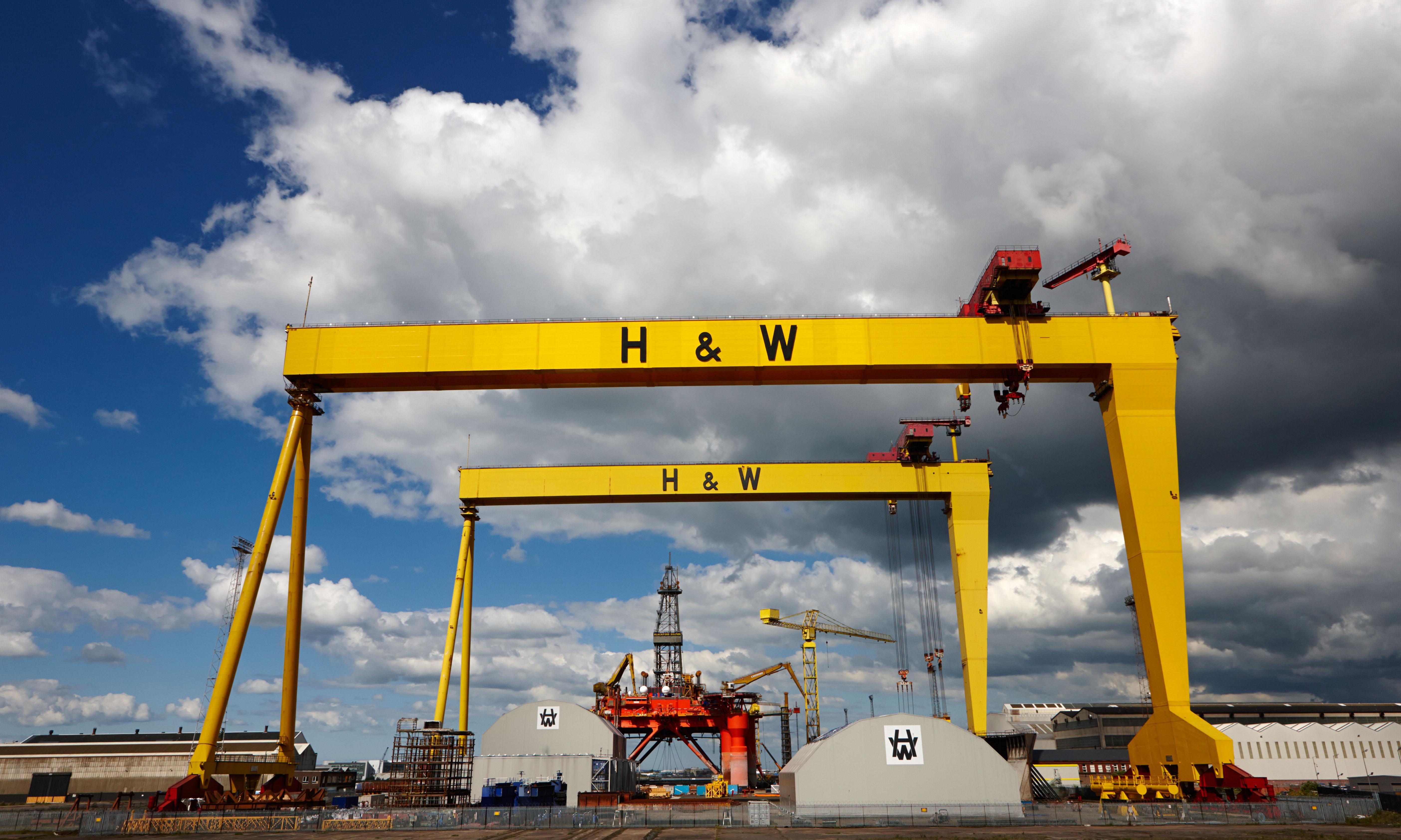Harland and Wolff saved from closure in £6m rescue deal