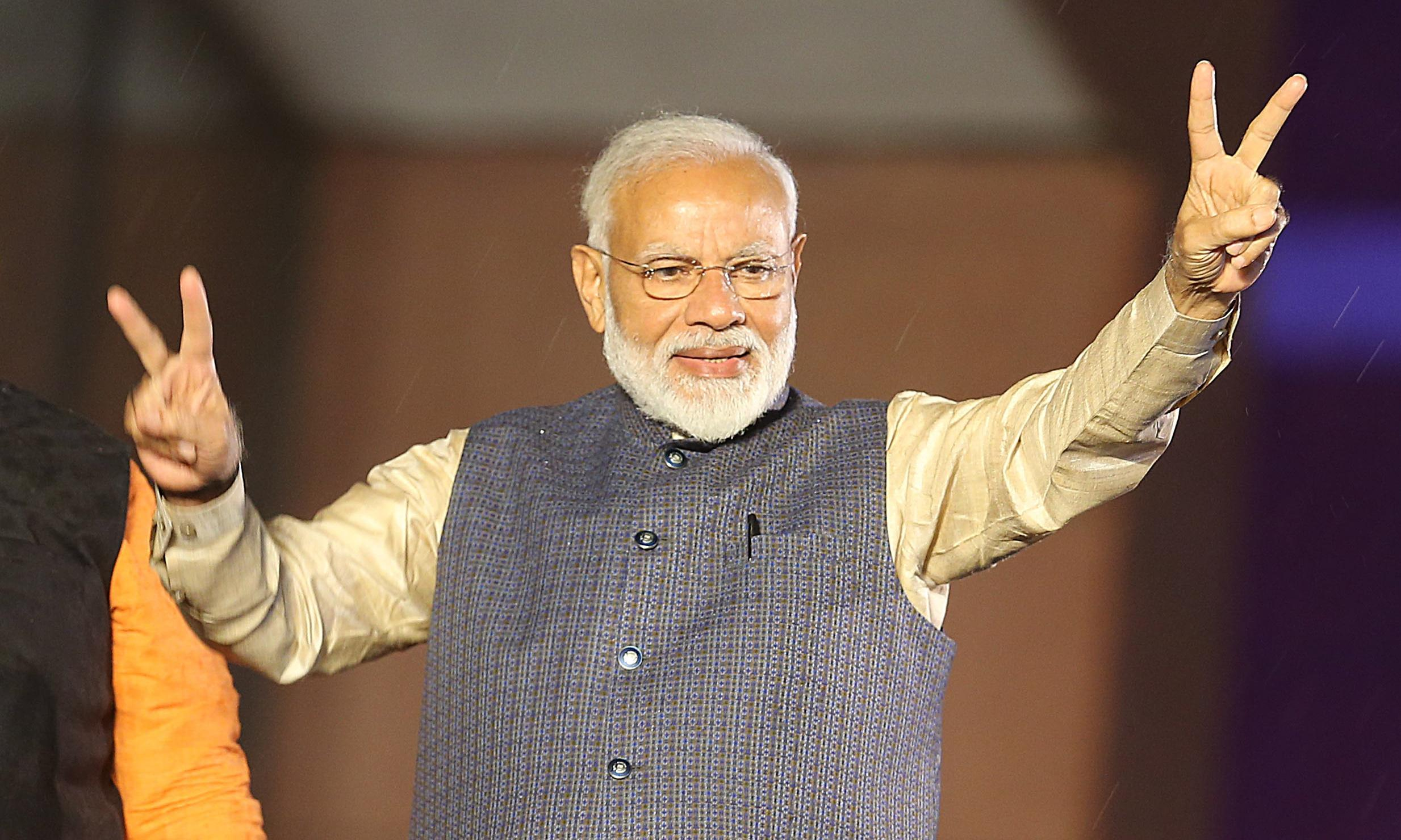 Narendra Modi: from impoverished tea seller to master of political theatre
