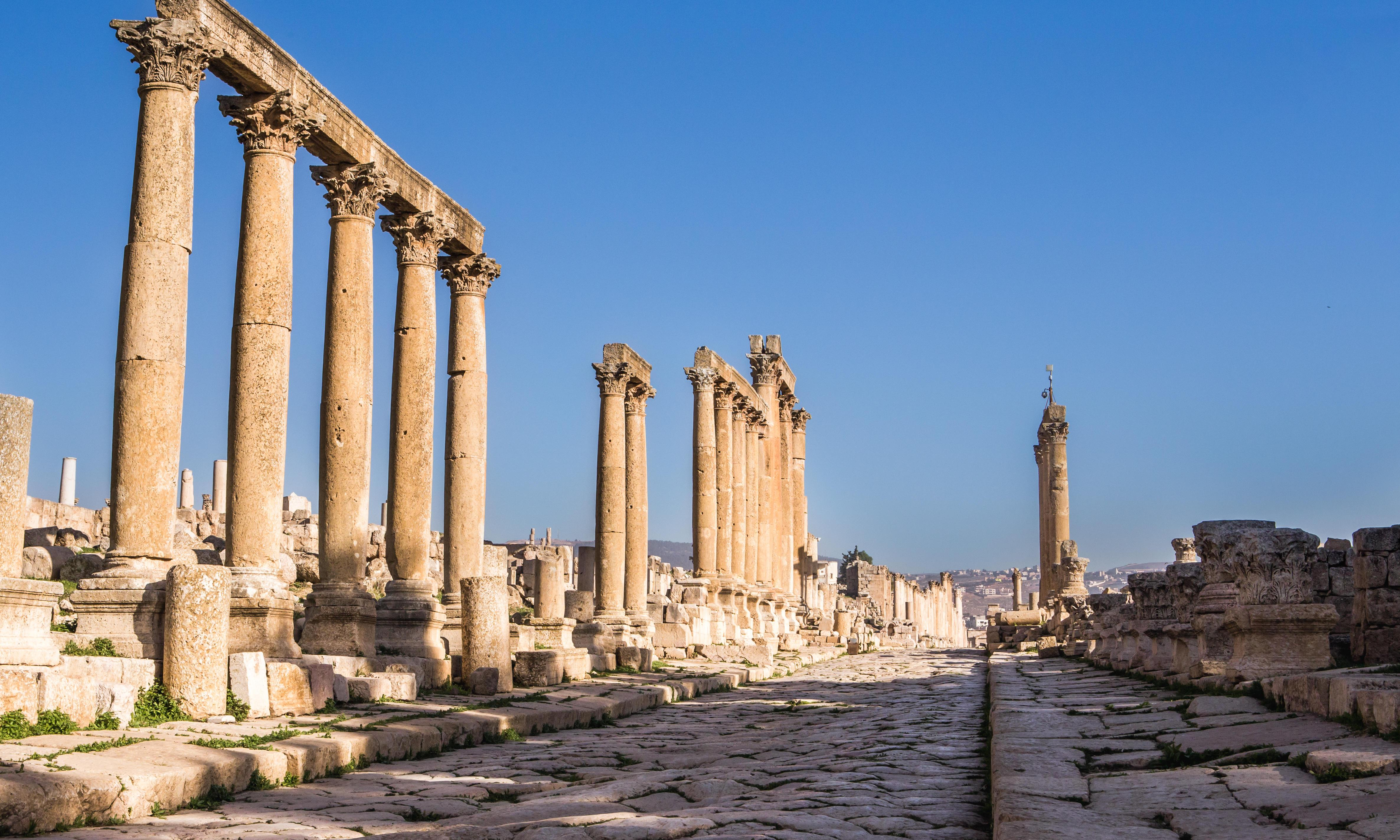 Jordan attack: foreign tourists among eight stabbed in Jerash
