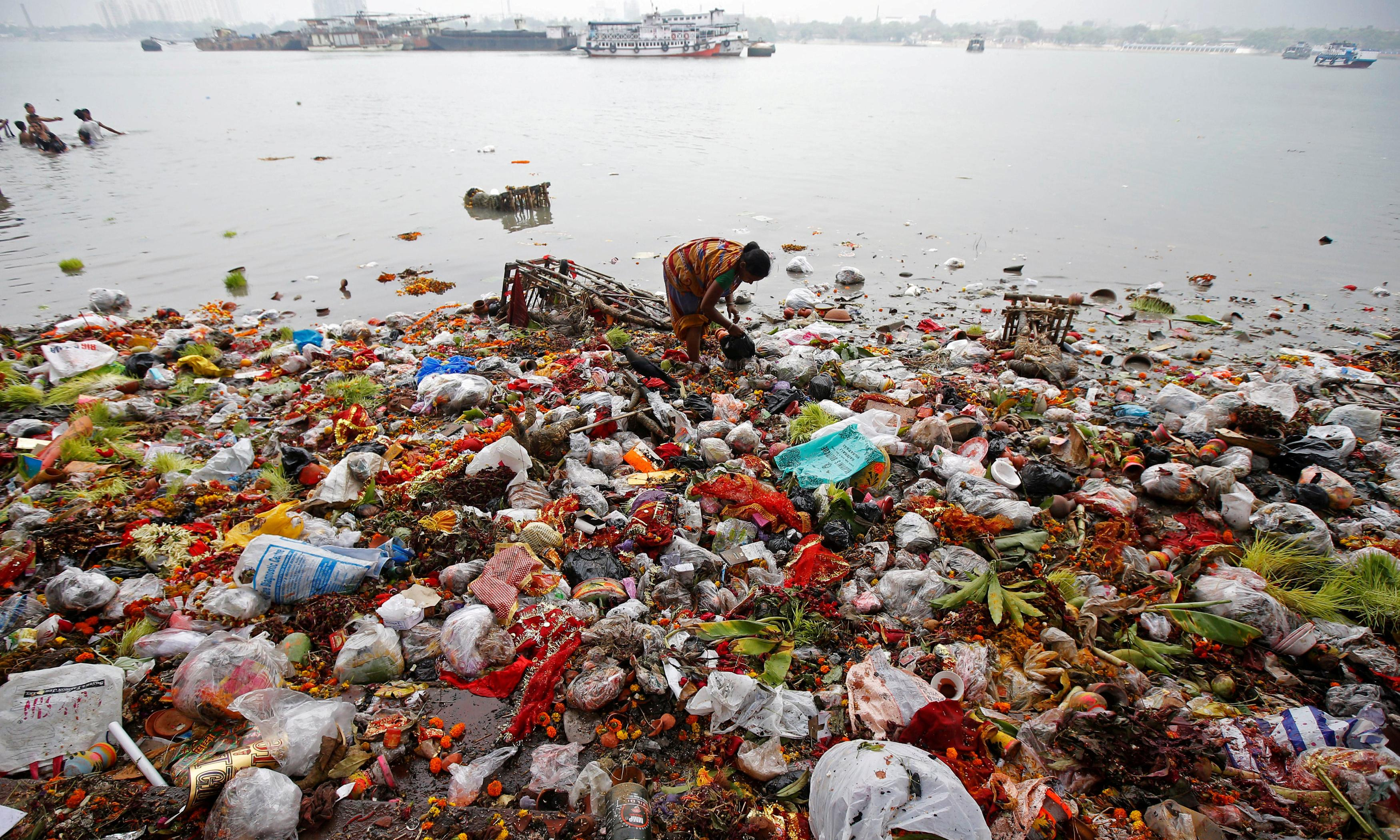 Plastic, poverty and paradox: experts head to the Ganges to track waste