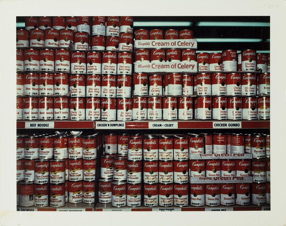 Campbell Soups, New York 1972.