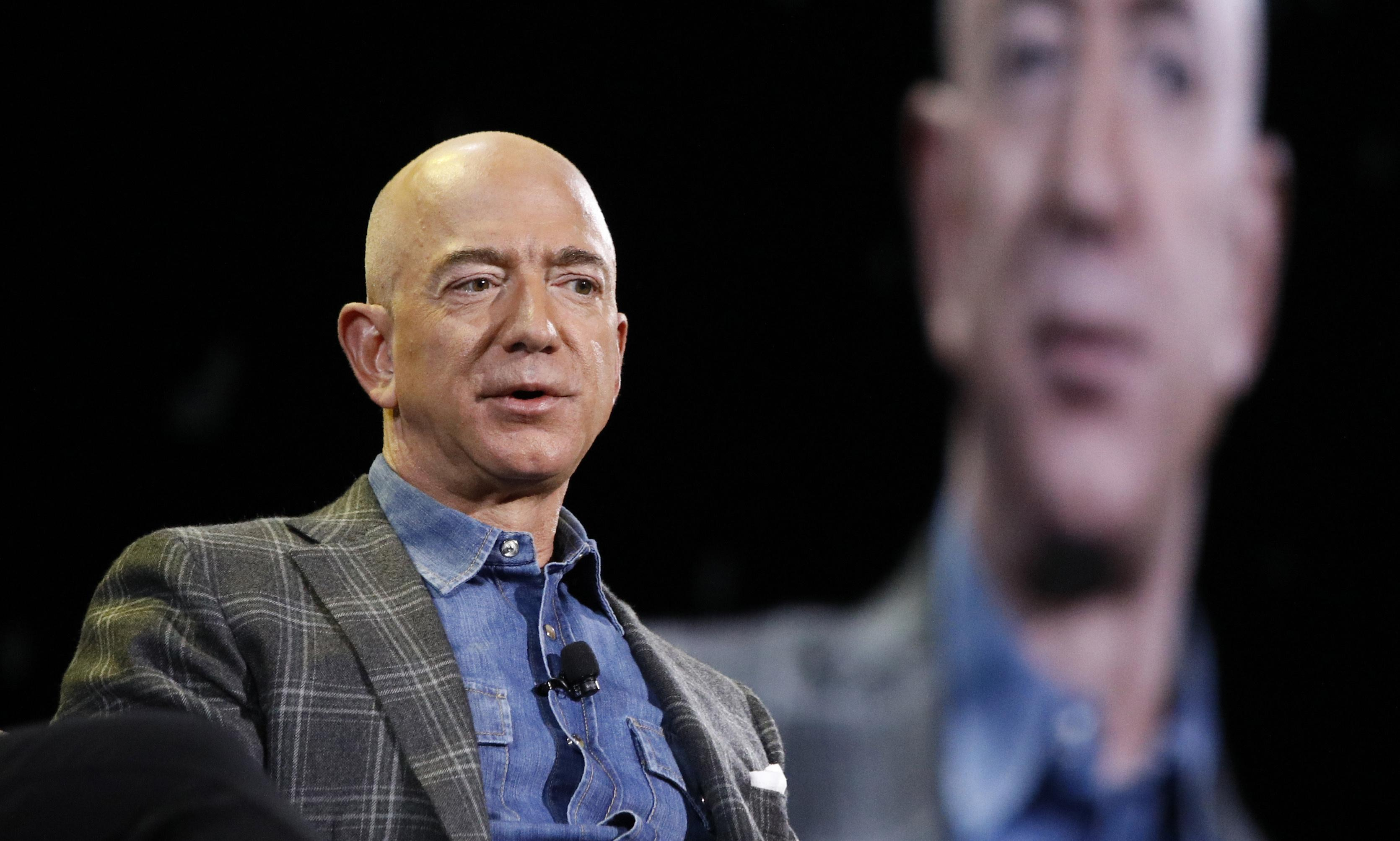 Charity clearly doesn't begin at home for Jeff Bezos