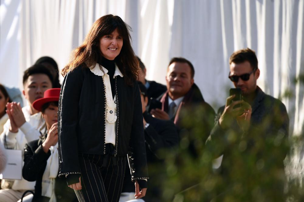 French fashion designer Virginie Viard.