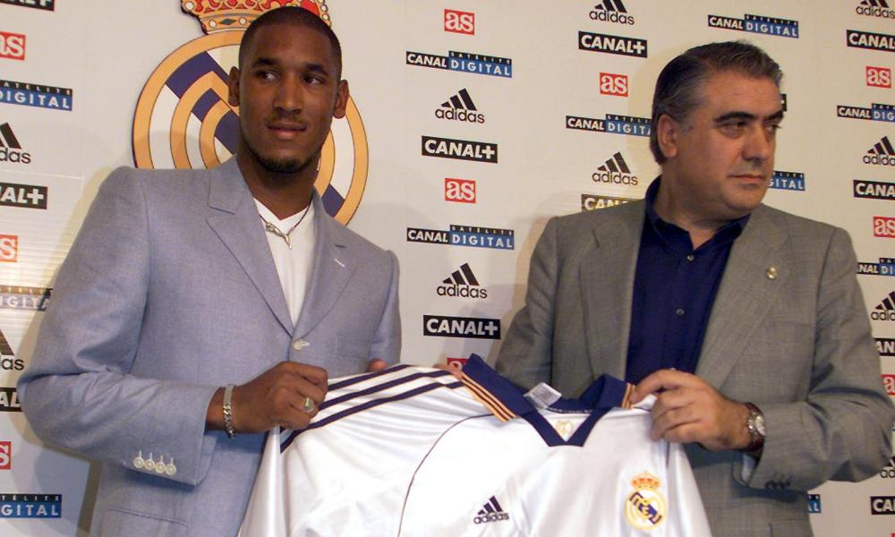 The signing of Nicolas Anelka (left) by Sanz (right) did not work out as planned.