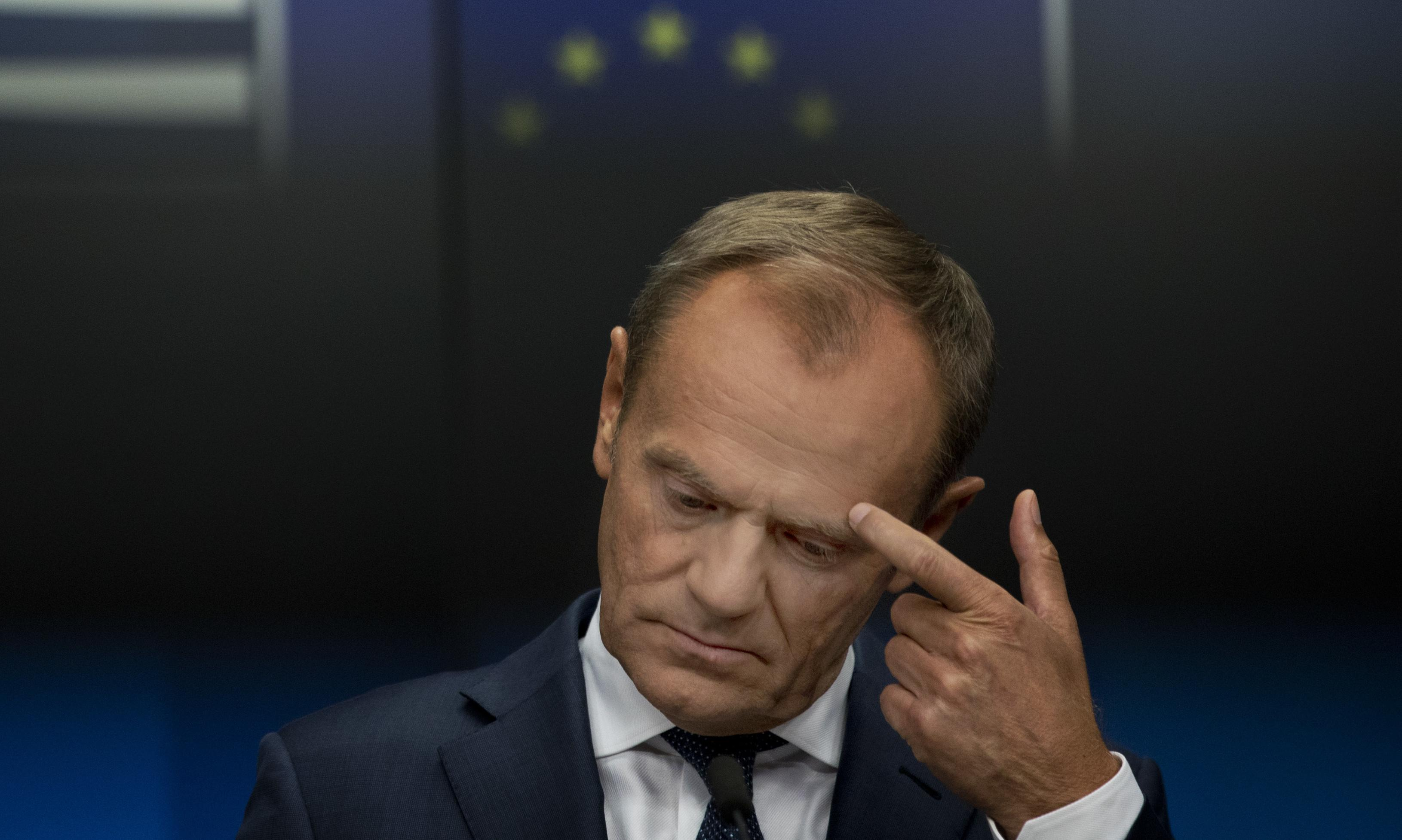 Donald Tusk says Brexit deal looks impossible