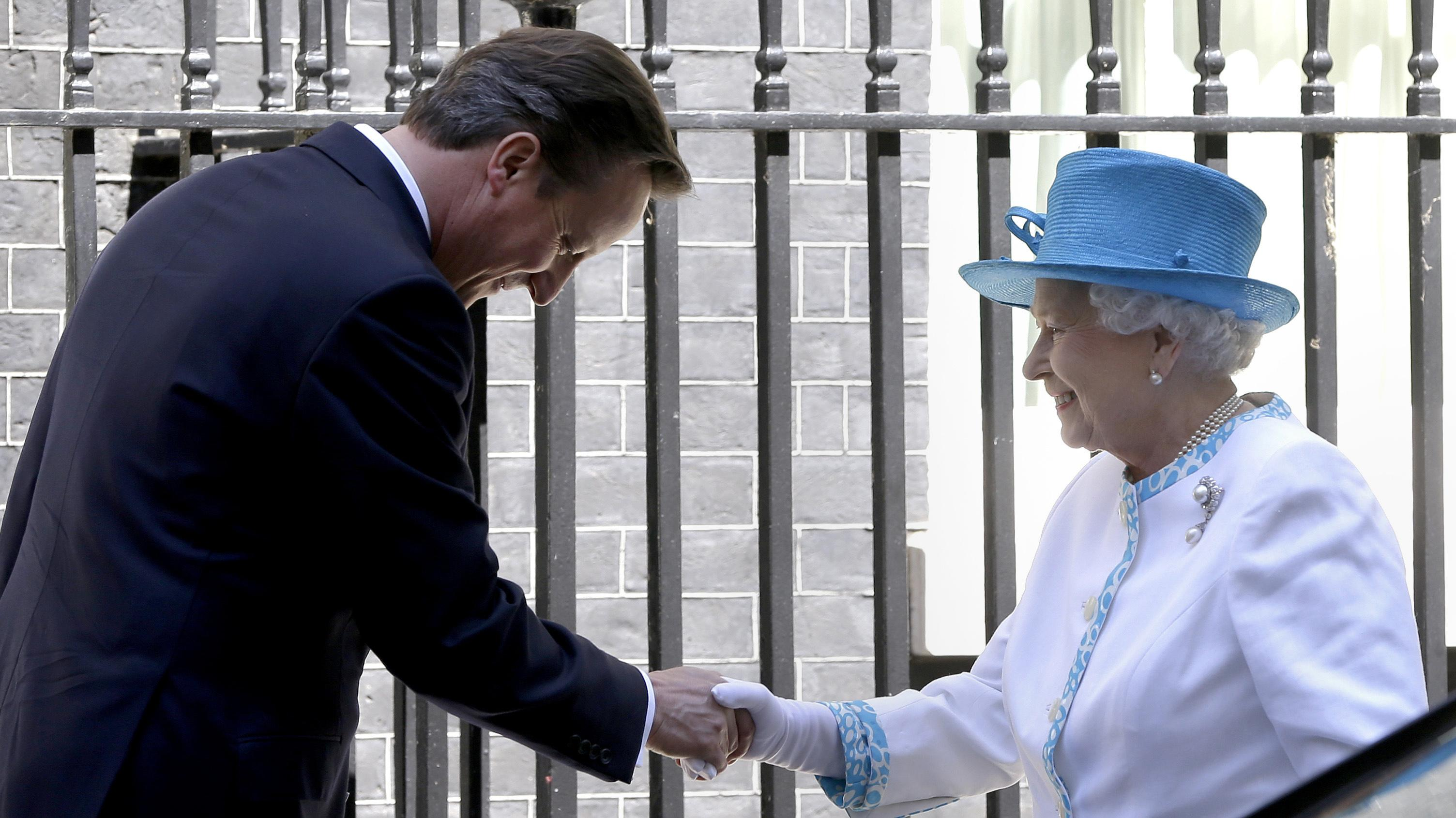 The Queen above politics? Not when Cameron and Johnson come calling