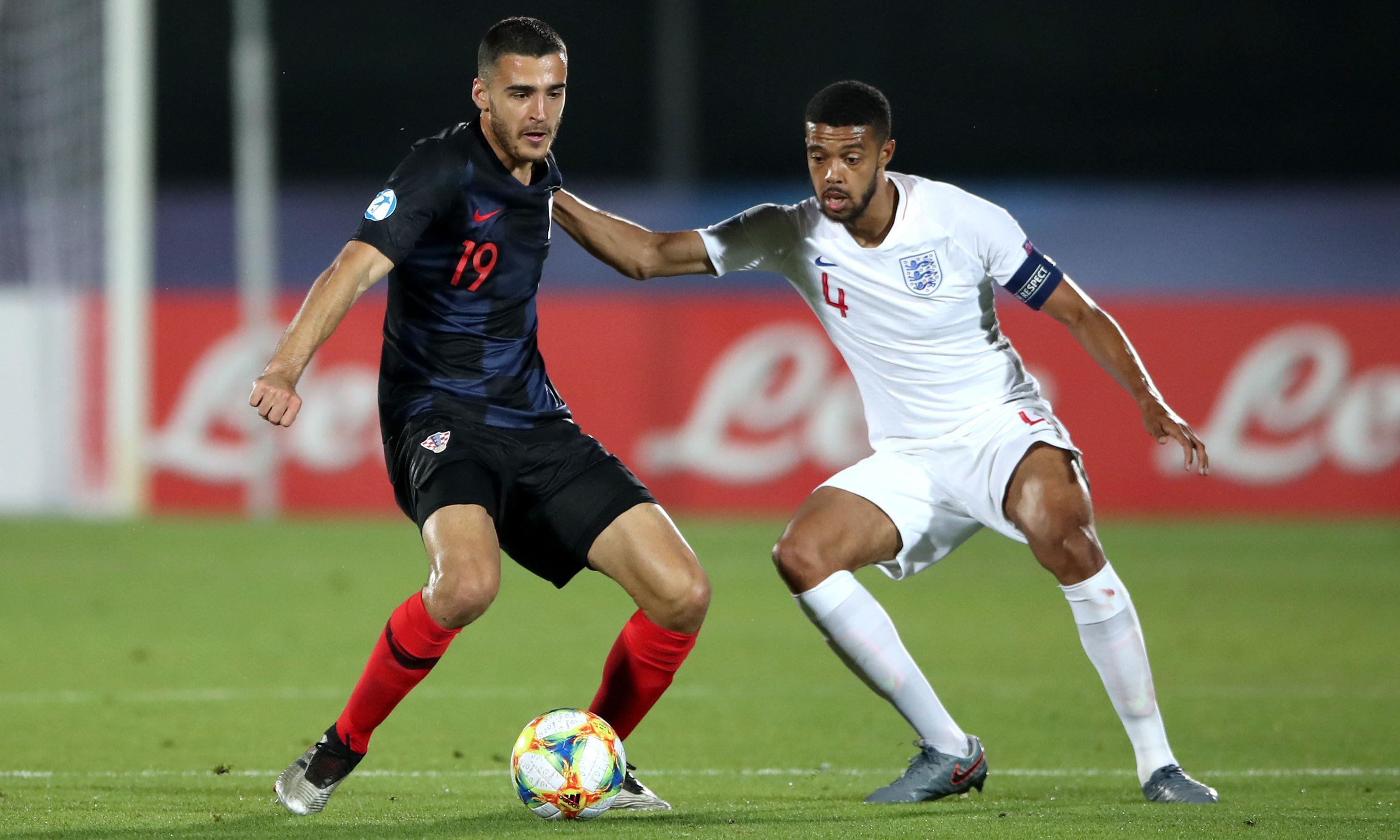 Brekalo's brace helps Croatia Under-21s haul England back three times