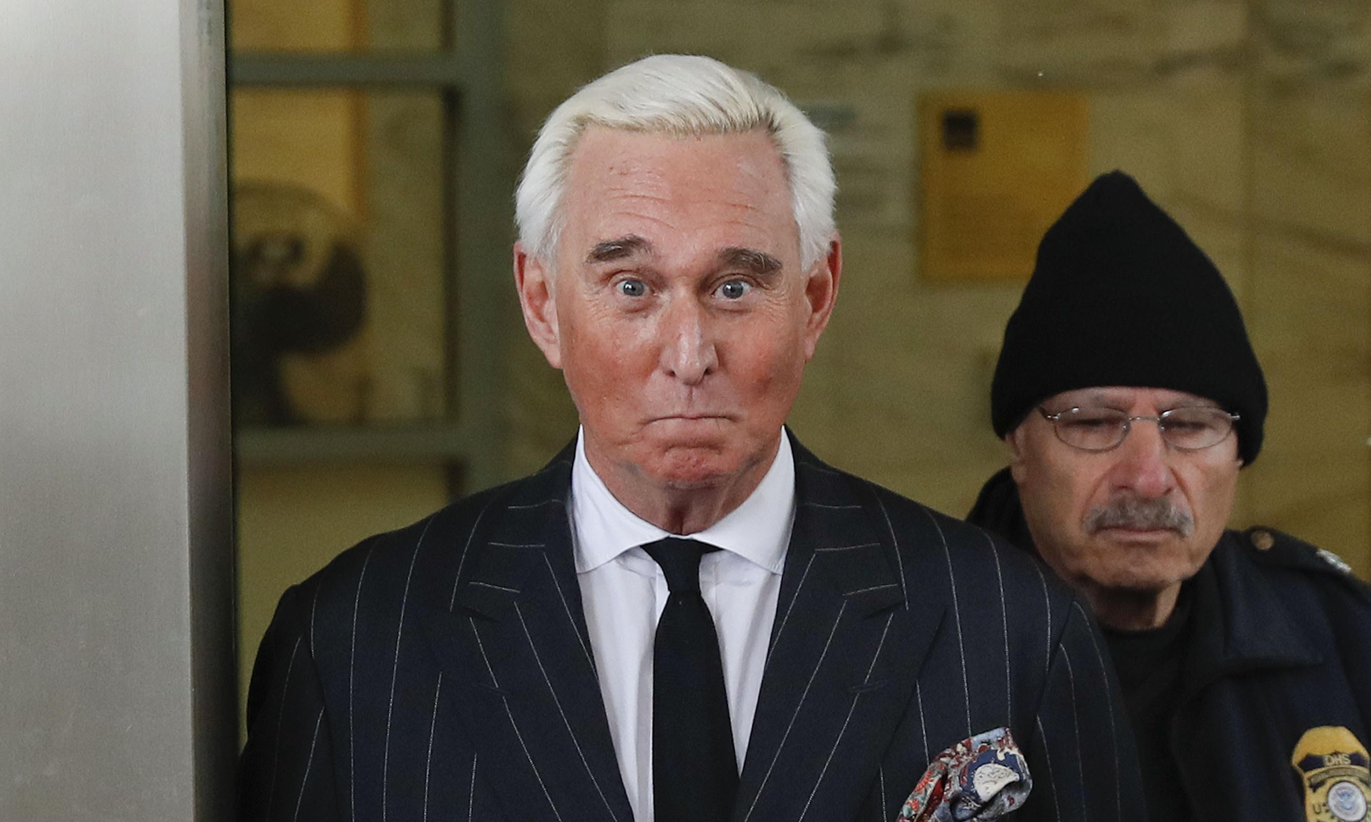 Roger Stone: judge issues gag order on Trump confidant in criminal case