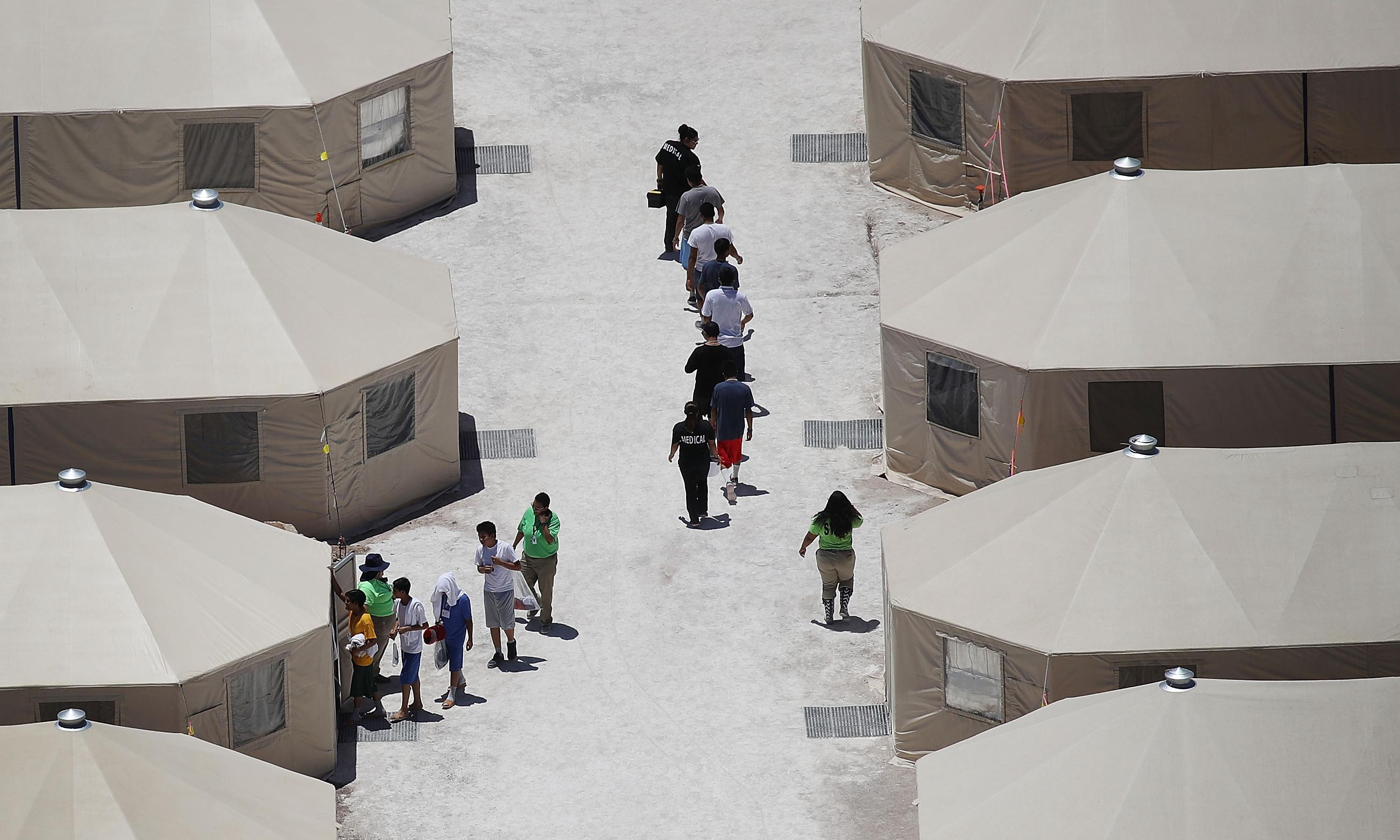'A dangerous precedent': Texans outraged at prospect of tent cities for migrants