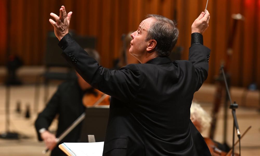 A delight to watch... BBCSO chief conductor Sakari Oramo