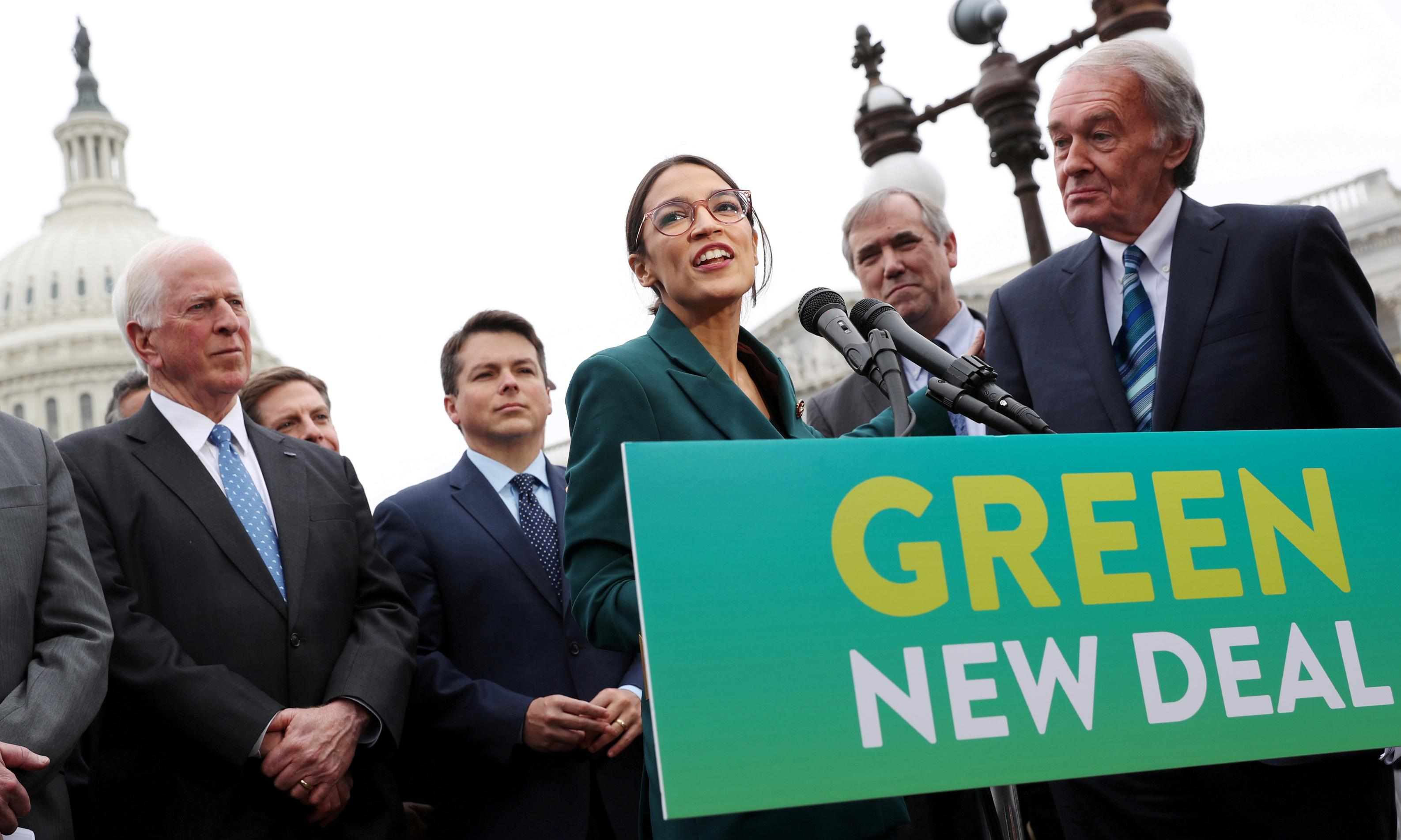 Labour members launch Green New Deal inspired by US activists