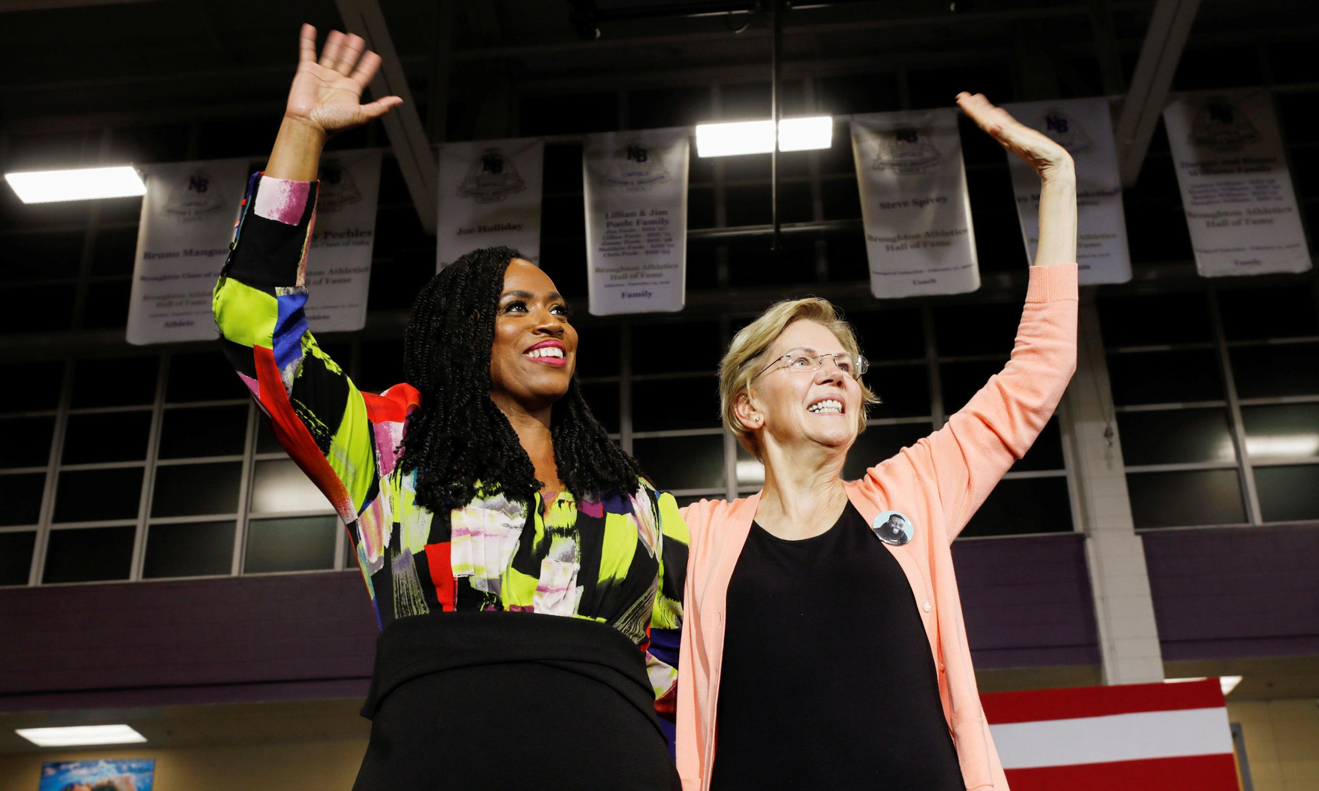 Surprised Ayanna Pressley 'broke' with the squad to endorse Warren? Don't be
