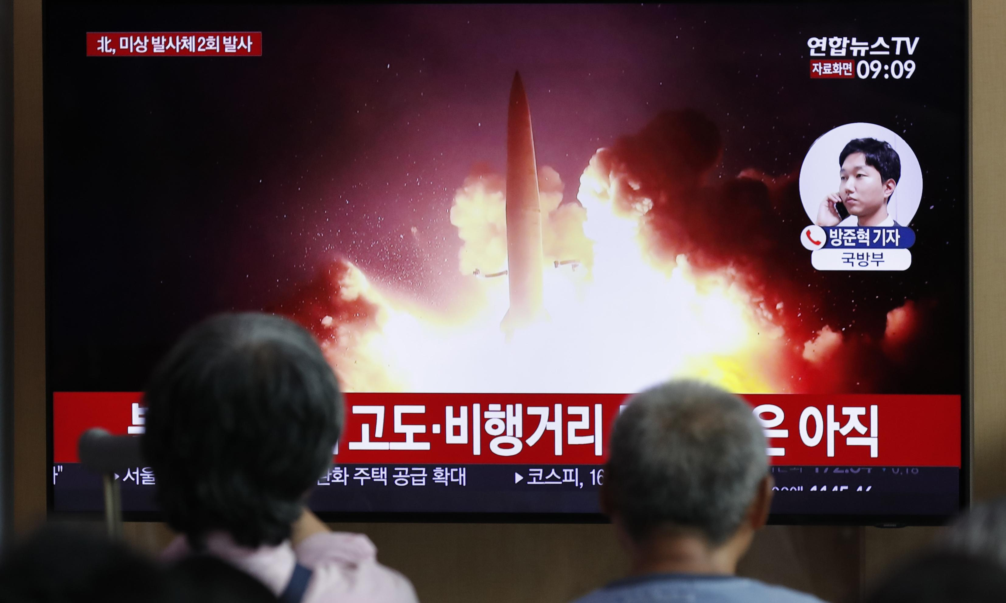 North Korea fires more projectiles and says talks with 'impudent' South are over