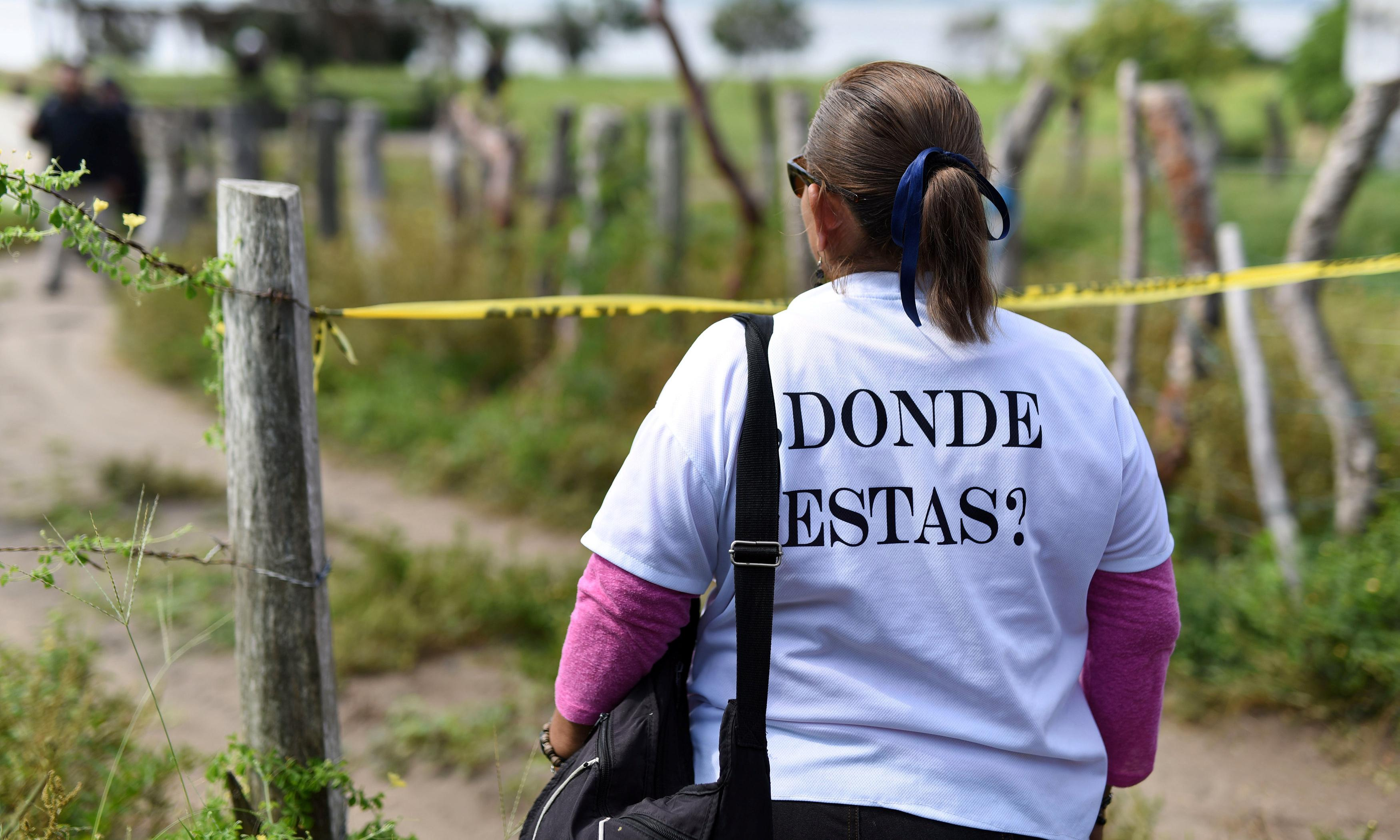 More than 6,600 children have gone missing in Mexico