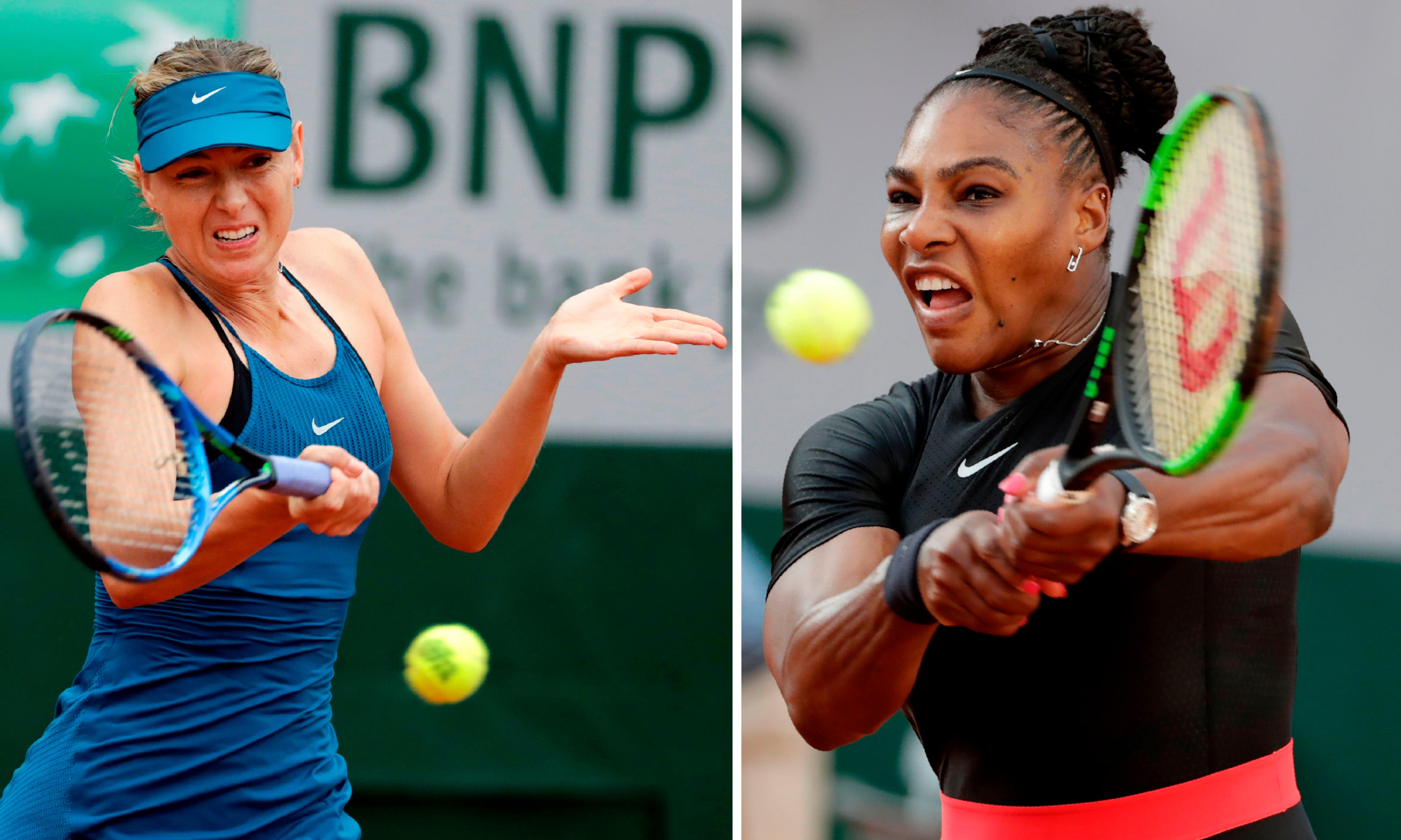 Maria Sharapova and Serena Williams put 15-year feud on line at US Open