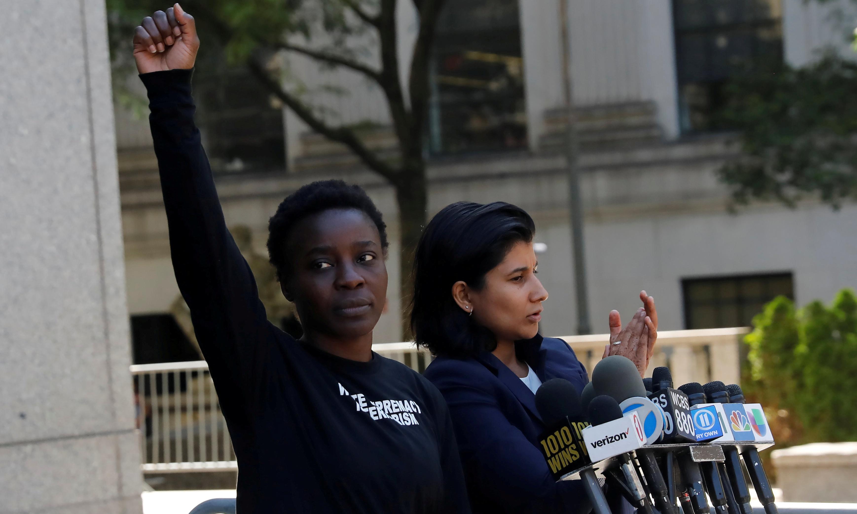'I must continue': Statue of Liberty climber still protesting despite facing prison