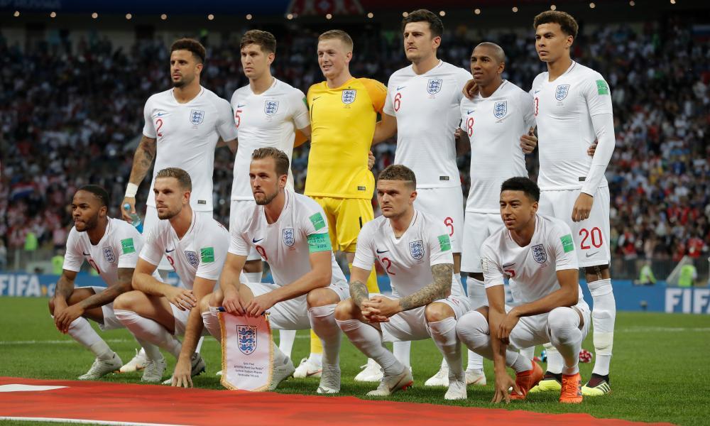 England team photo