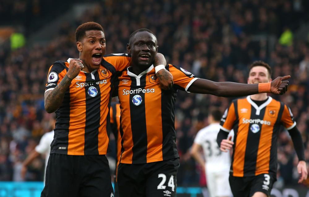 Abel Hernández, left, and Oumar Niasse have fired Hull's revival since Marco Silva arrived.