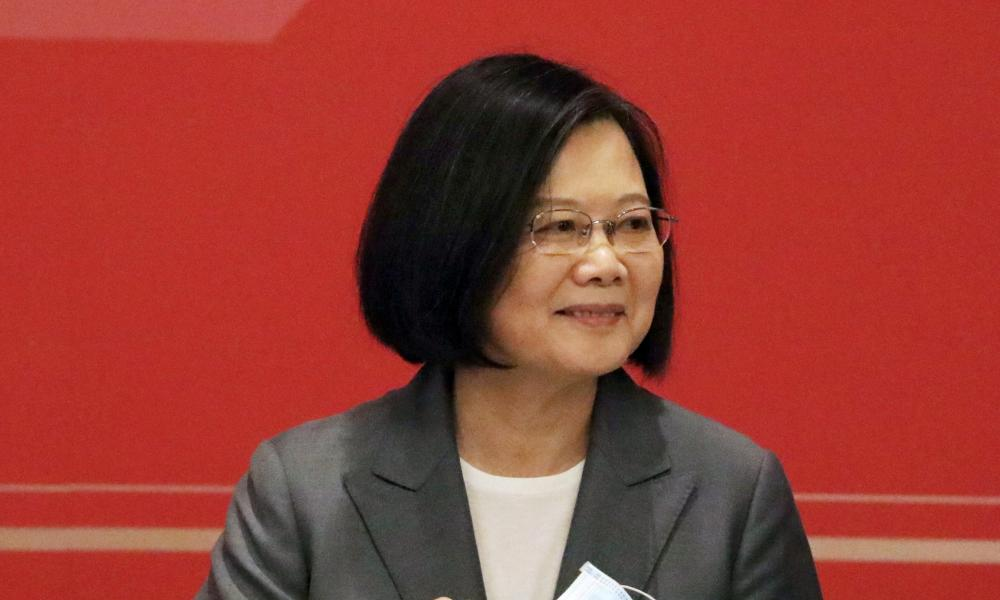 """Taiwan president Tsai Ing-wen said if the island """"were to fall, the consequences would be catastrophic for regional peace"""""""