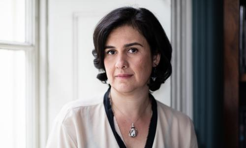 Kamila Shamsie, winner of the Women's prize for fiction 2018 with Home Fire.