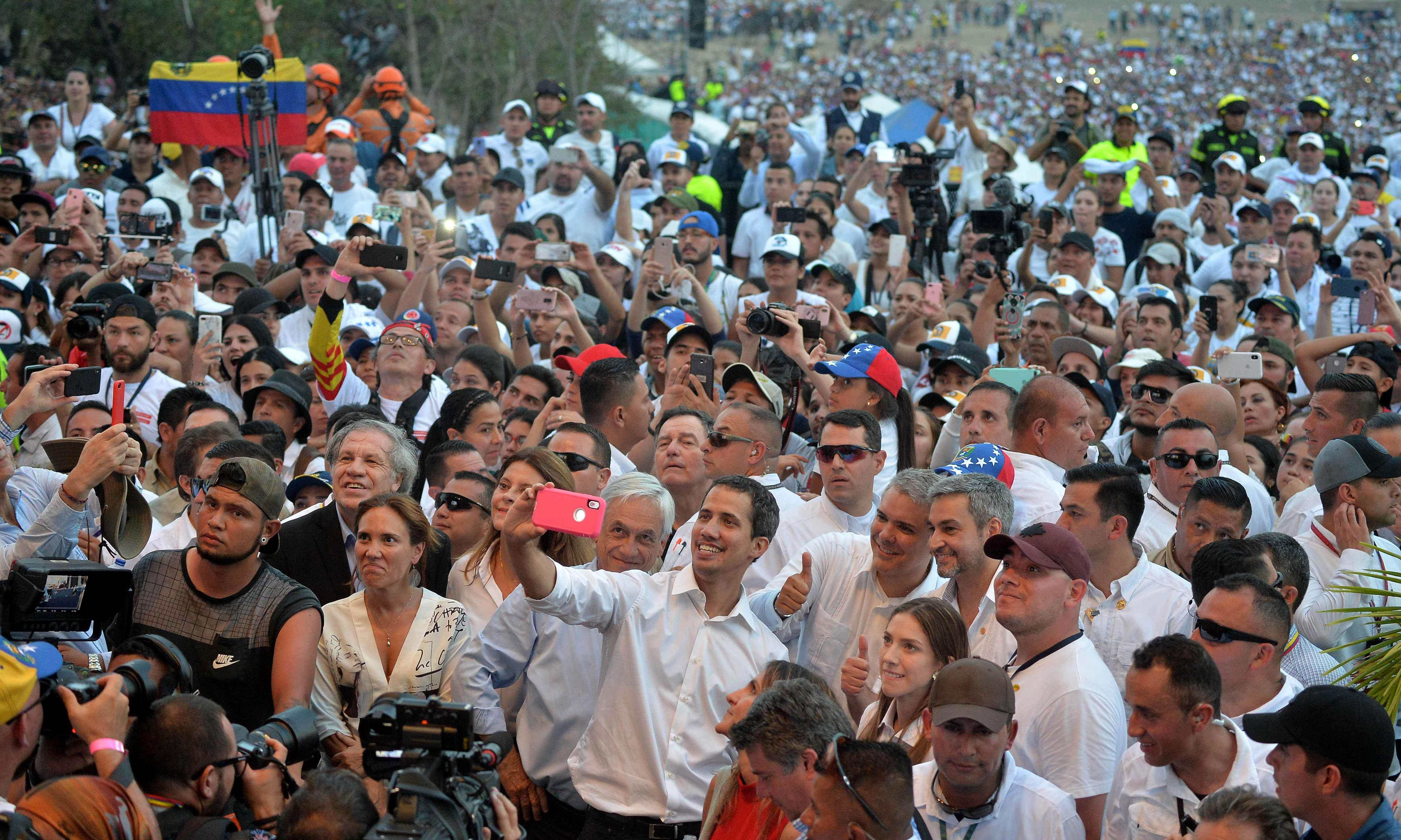 Juan Guaidó faces questions over links to organised crime groups