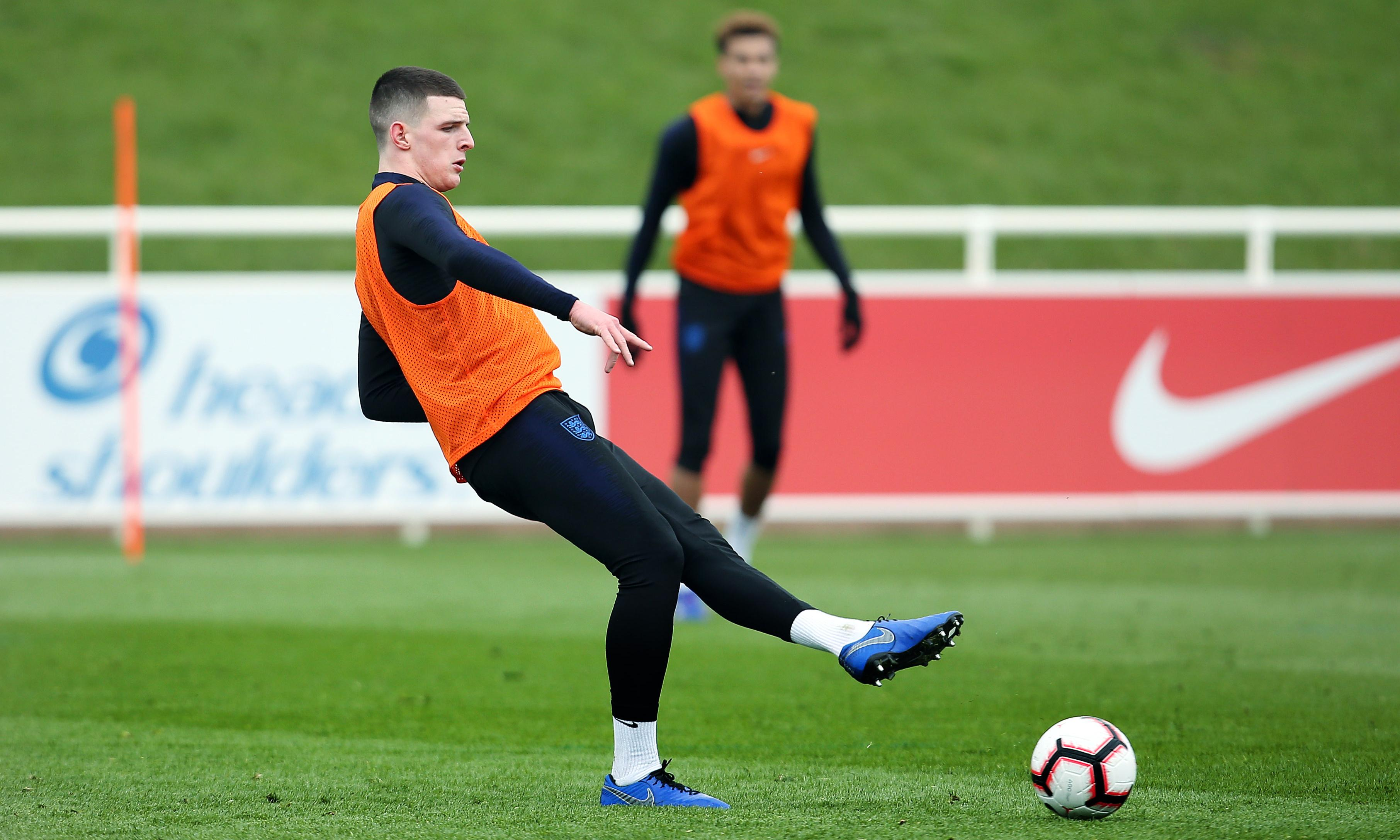 Declan Rice survives put-downs to reveal rich England promise