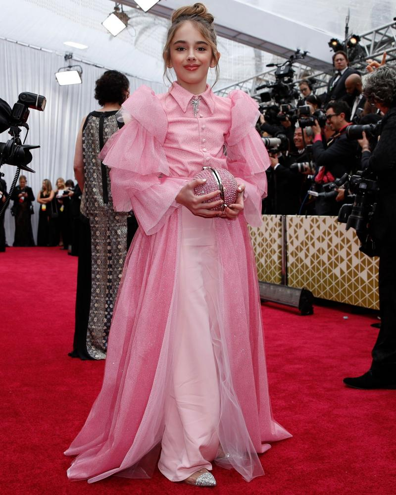 Julia Butters, 10 yrs old in Siriano