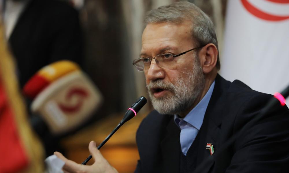 Iranian parliament speaker Ali Larijani, who has been confirmed sick with coronavirus