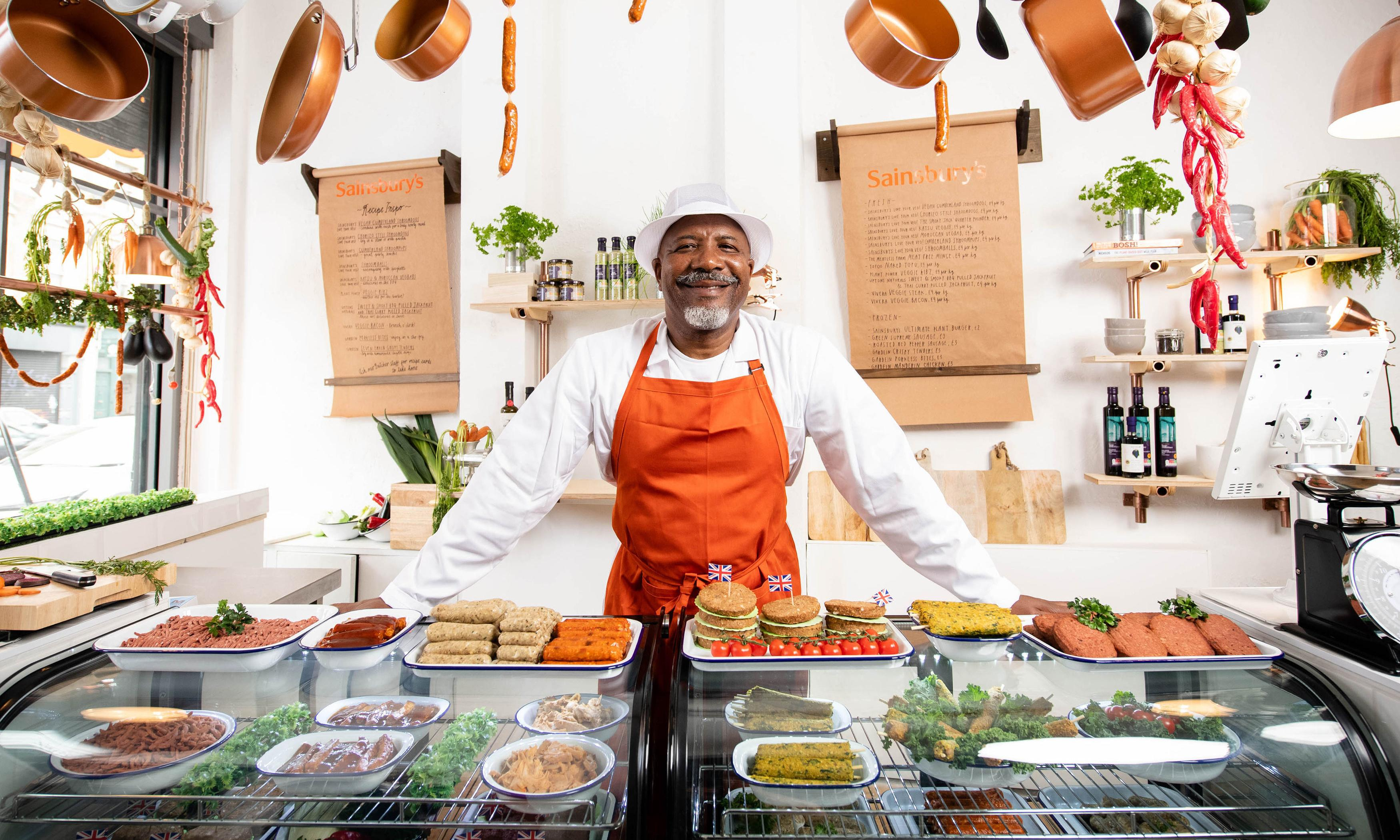 Beet this: Sainsbury's opens UK's first meat-free butcher