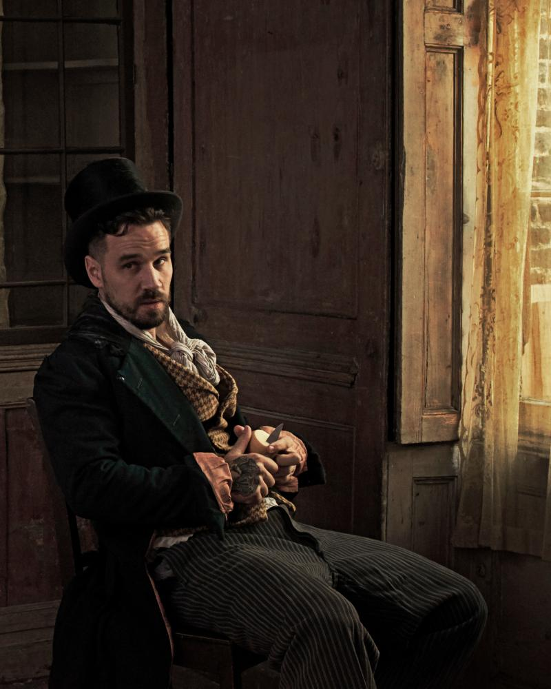 Gary Usher as the Artful Dodger