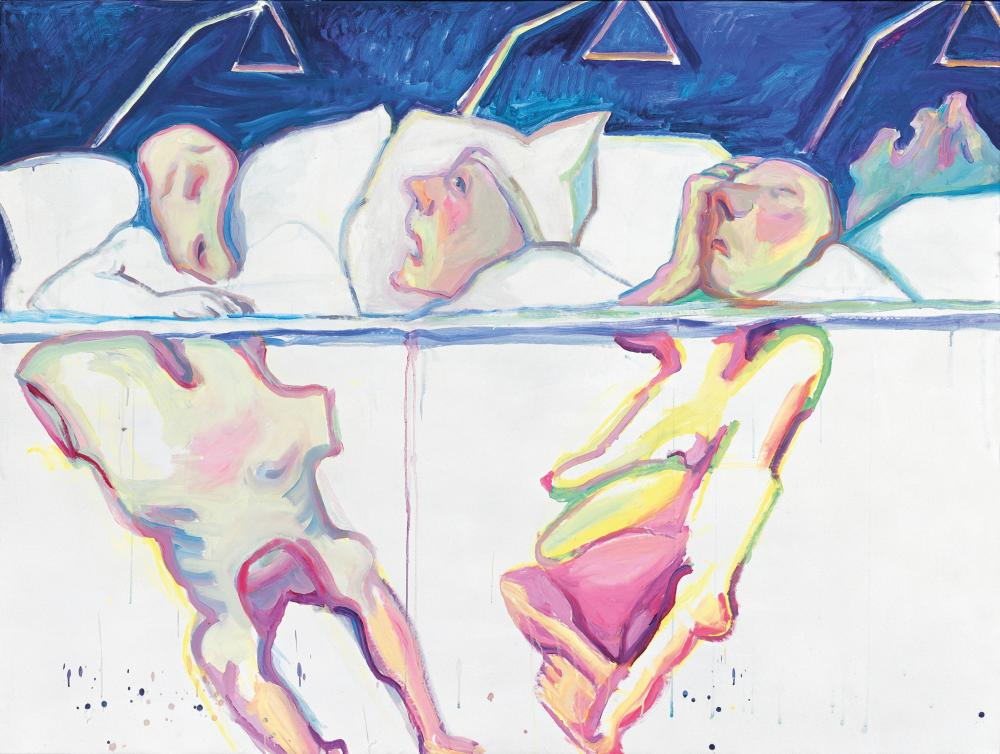 Hospital, 2005 by Maria Lassnig.