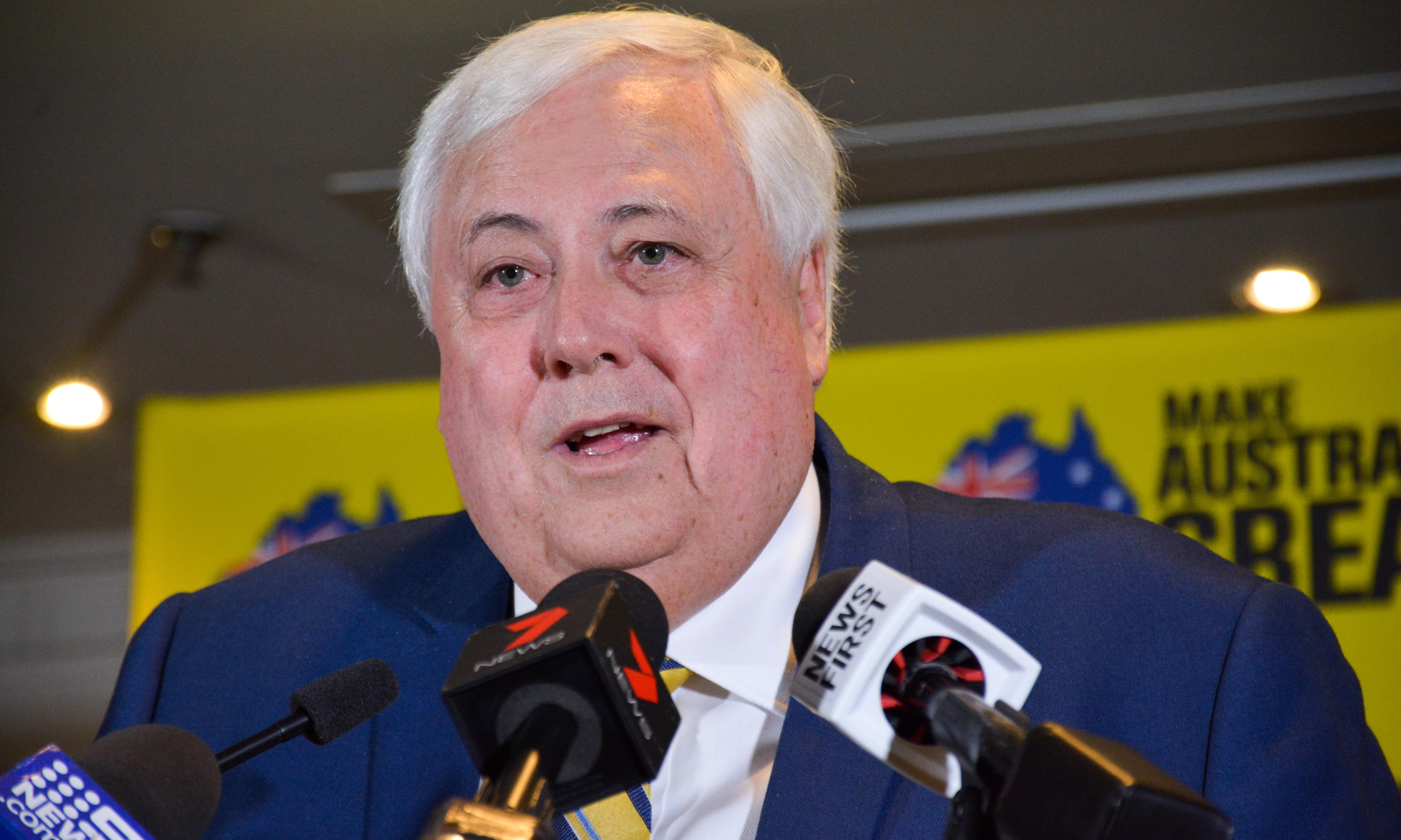 Clive Palmer takes aim at WA premier after court rules mine owes him millions
