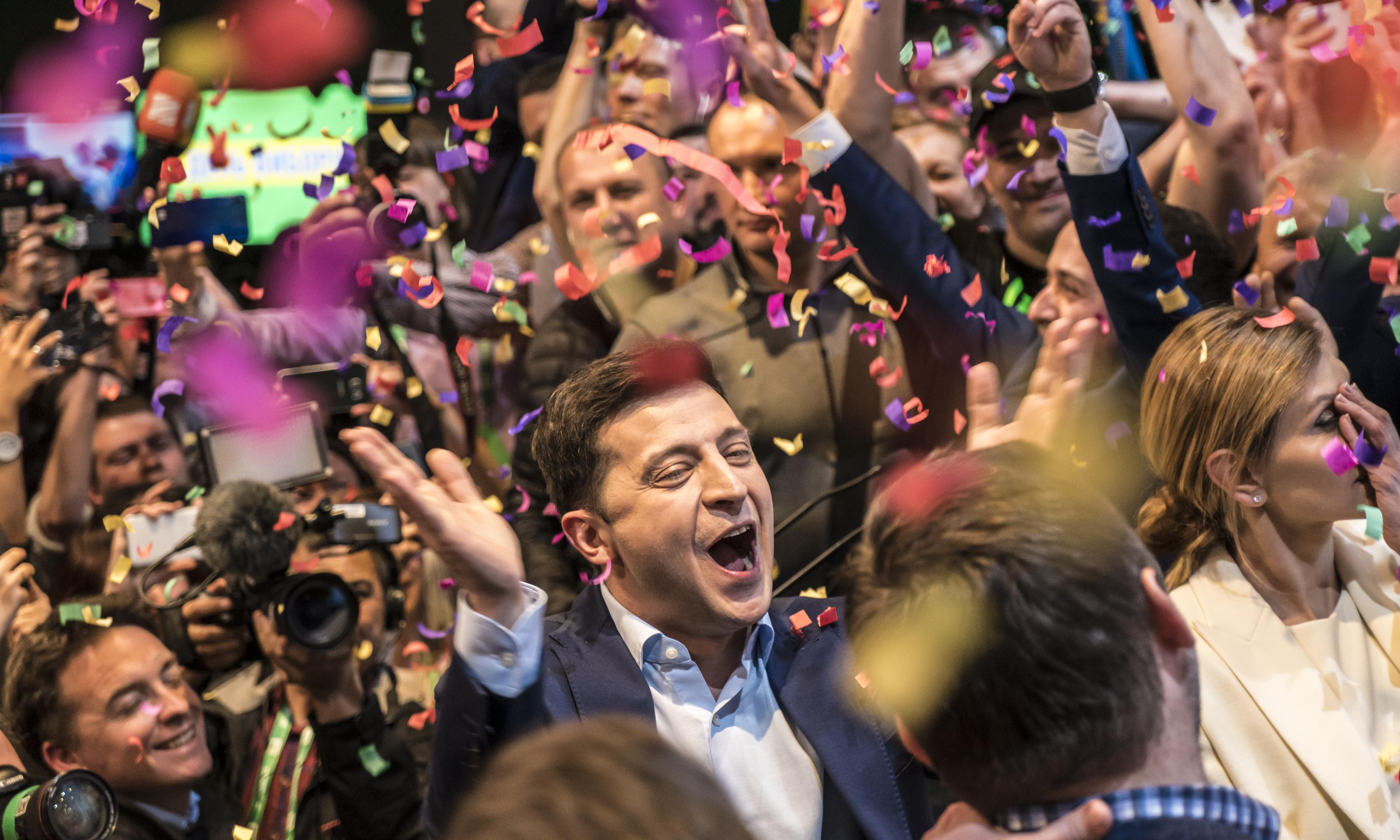 Zelenskiy's election proves Ukraine is a healthy democracy. Putin hates that