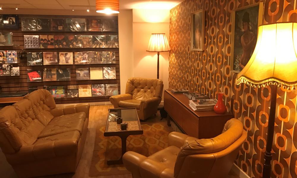 Relevant Record Cafe, Cambridge