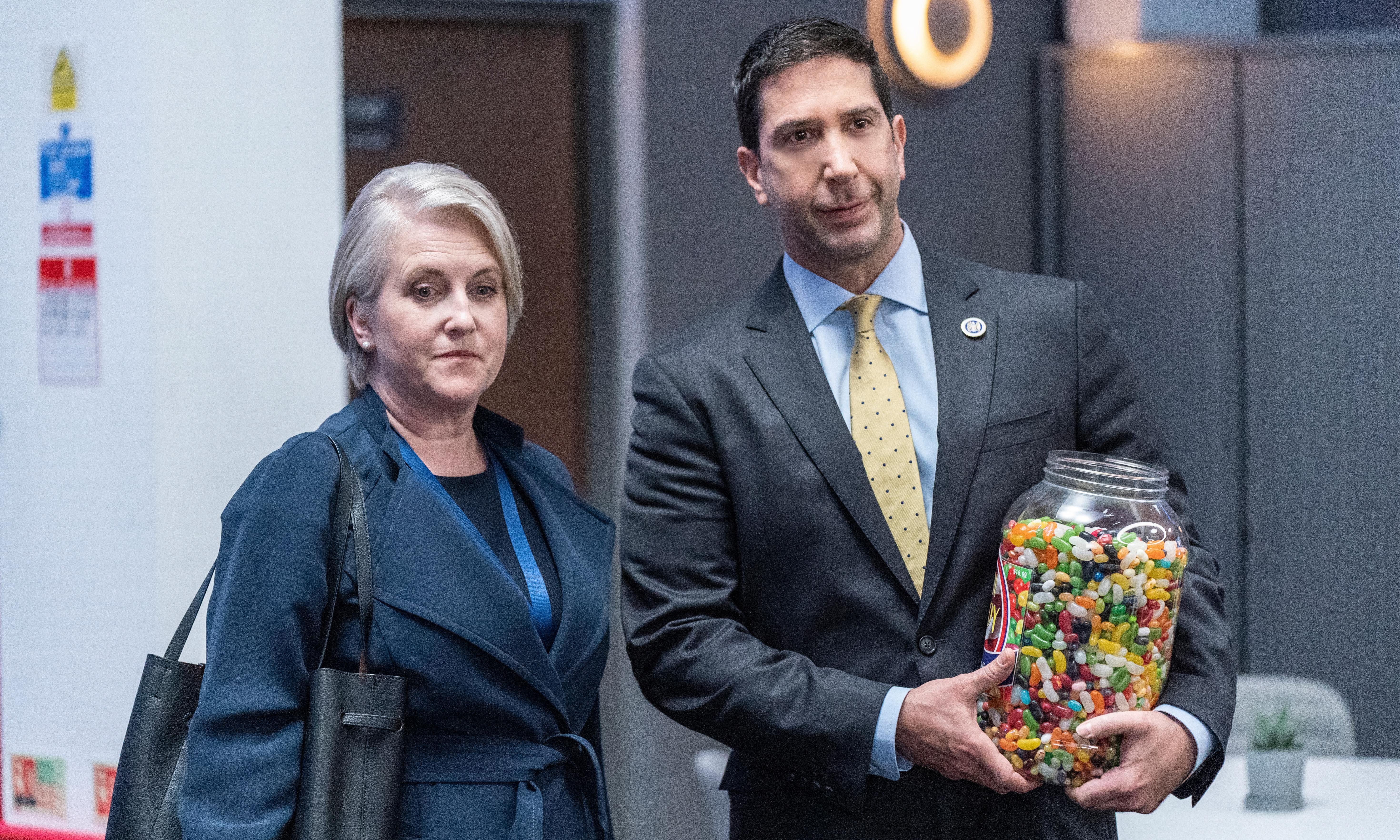 Intelligence review – never has David Schwimmer been so squandered