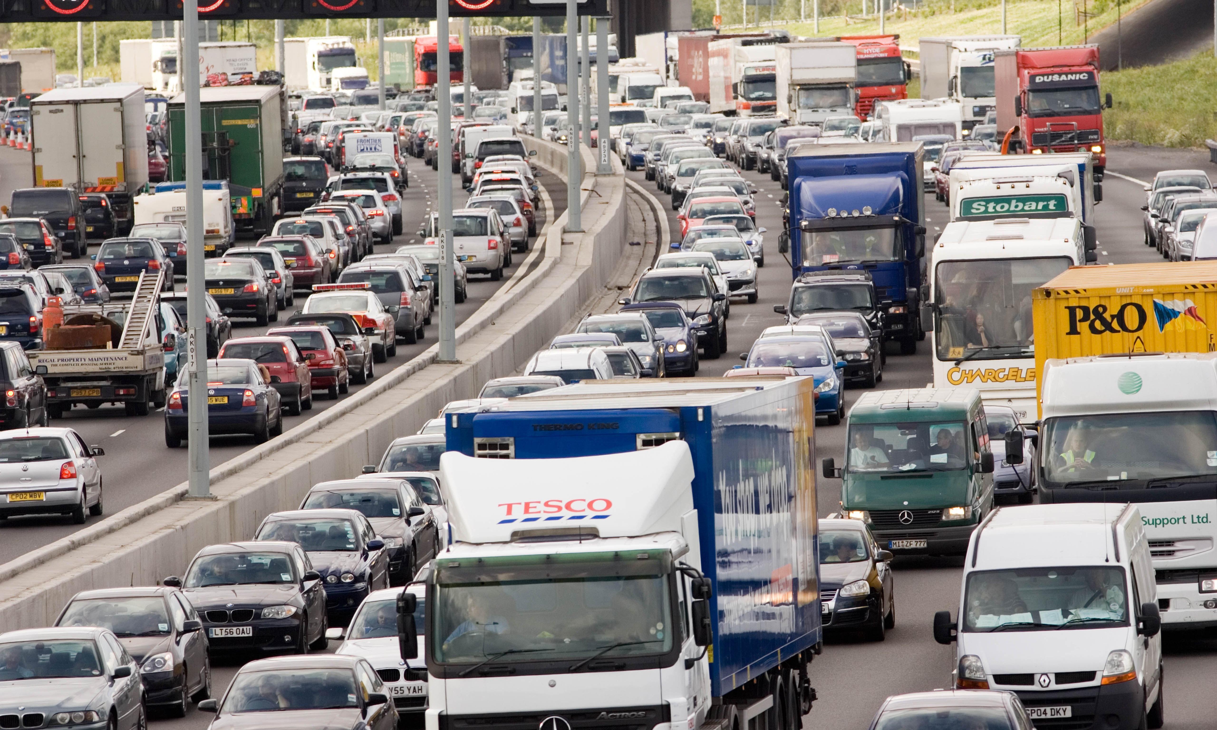 Traffic jams and rail closures to disrupt bank holiday travel