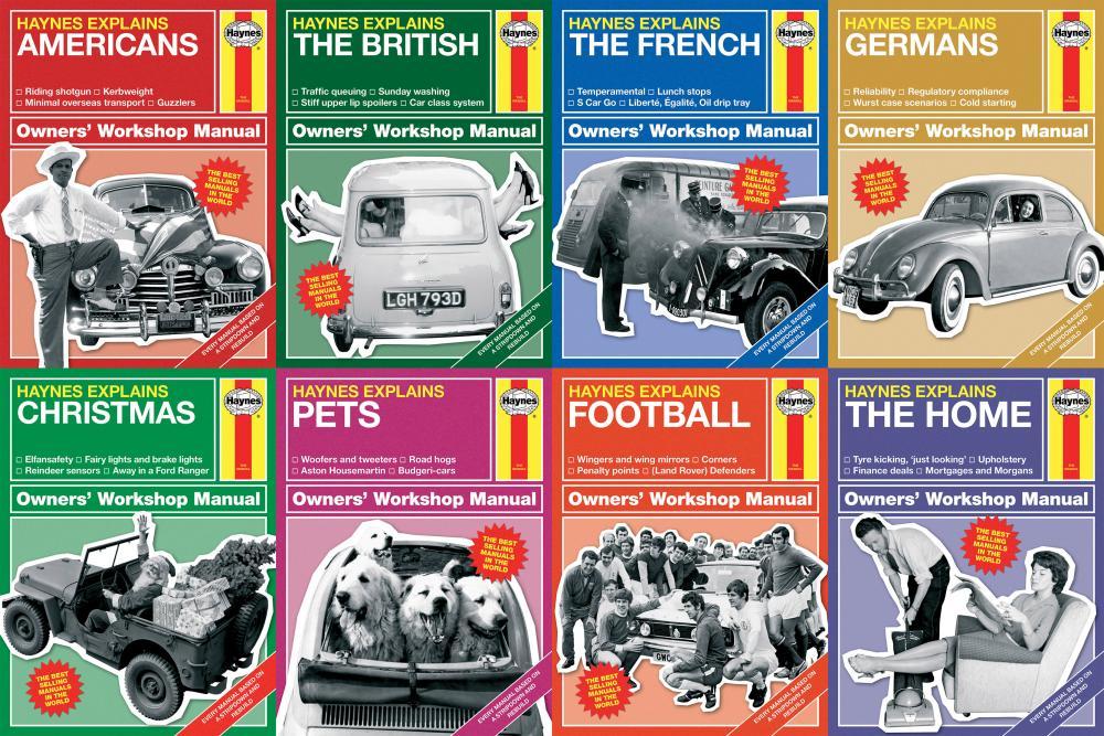 Making sense of the modern world: eight new Haynes Explains titles