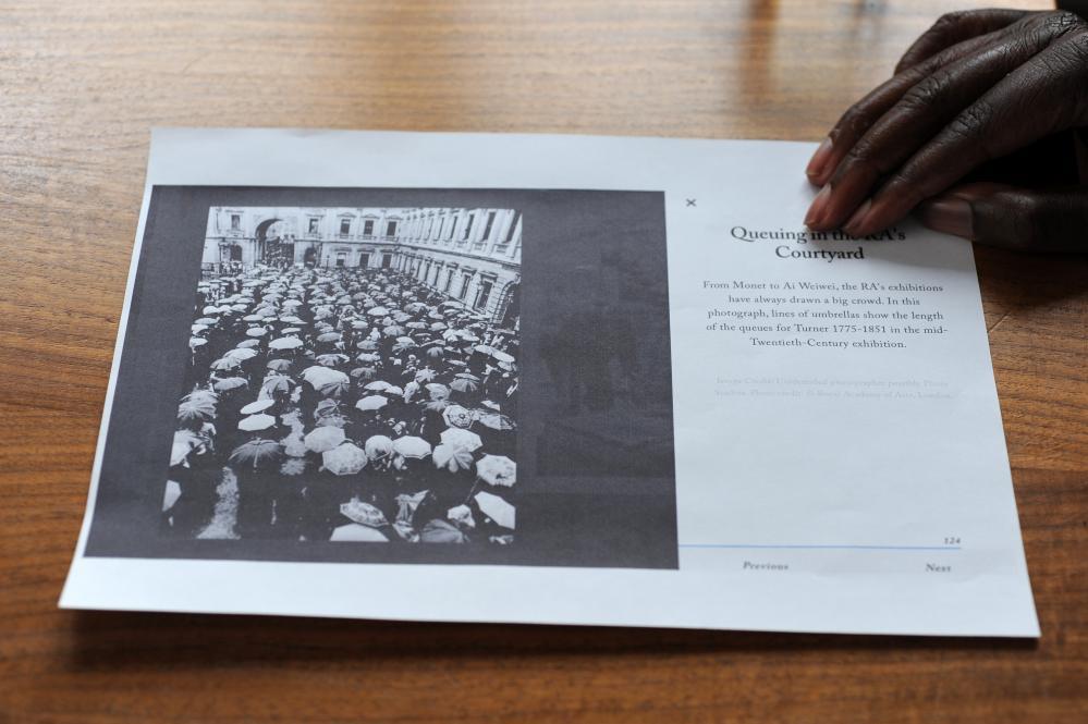 Free rein … the photo that inspired Yinka Shonibare.