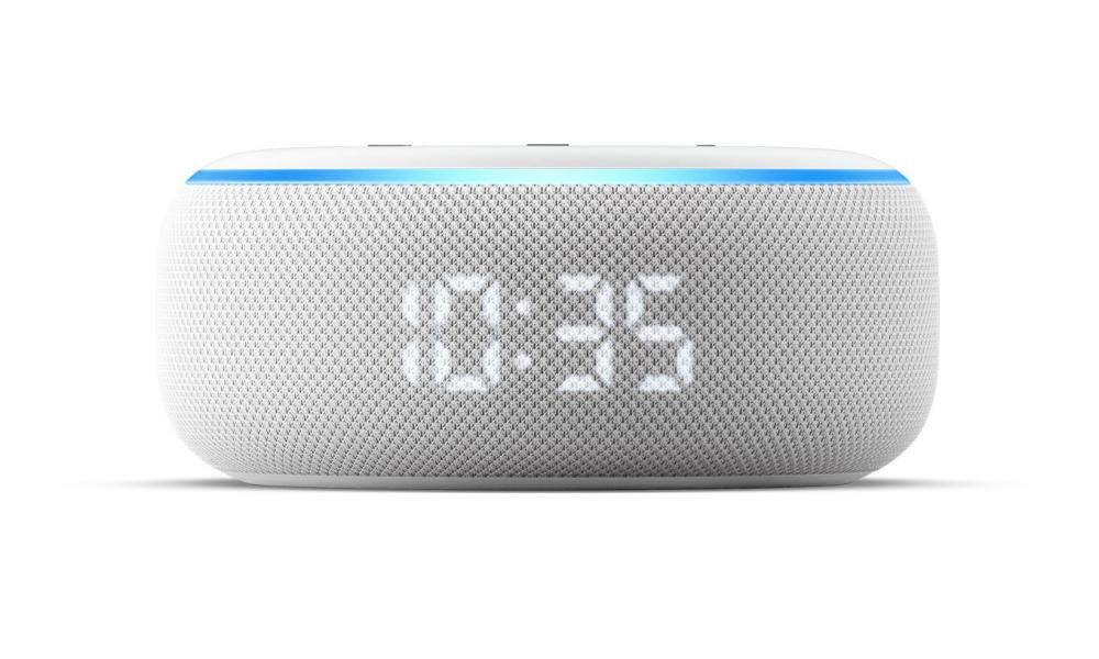 The best-selling Echo Dot gains an LED display for the time
